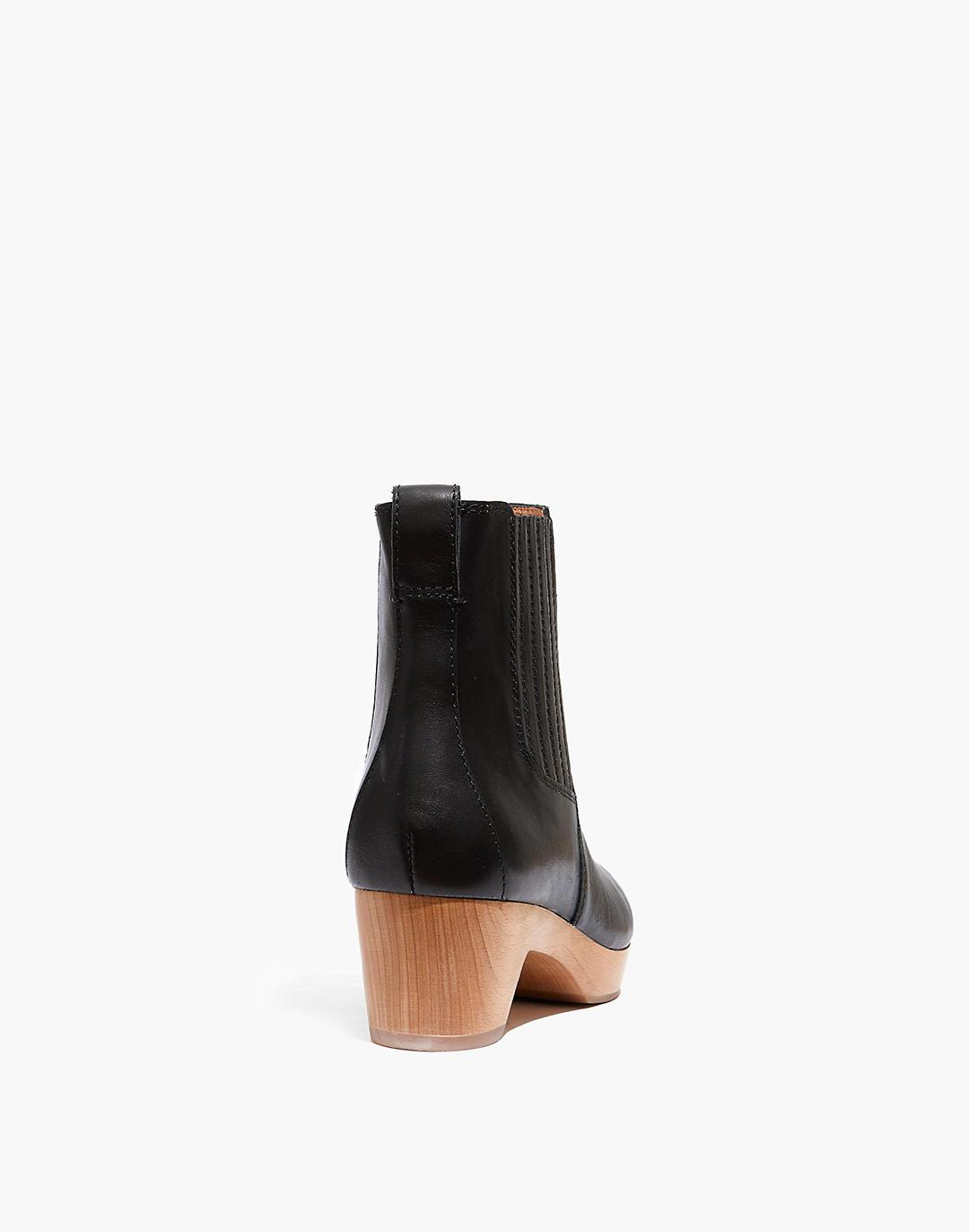 The Clog Boot in Leather 2