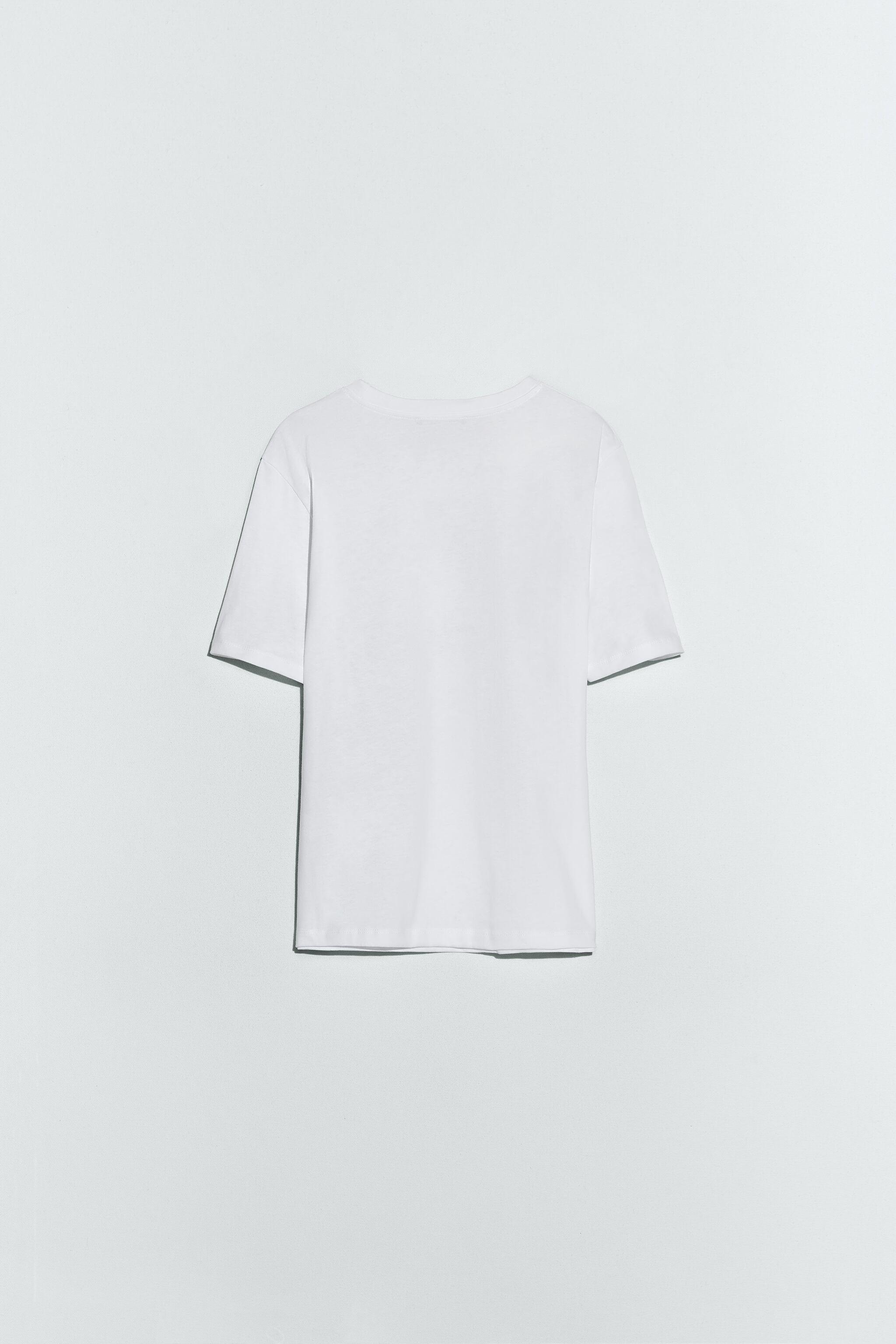 RAISED EMBROIDERY T-SHIRT 1