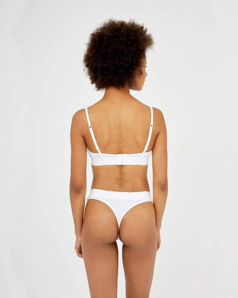Ultimate comfort thong white