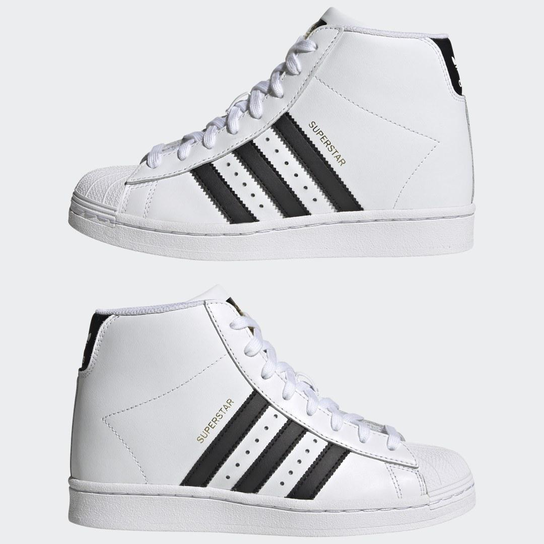 Superstar Up Shoes White 6