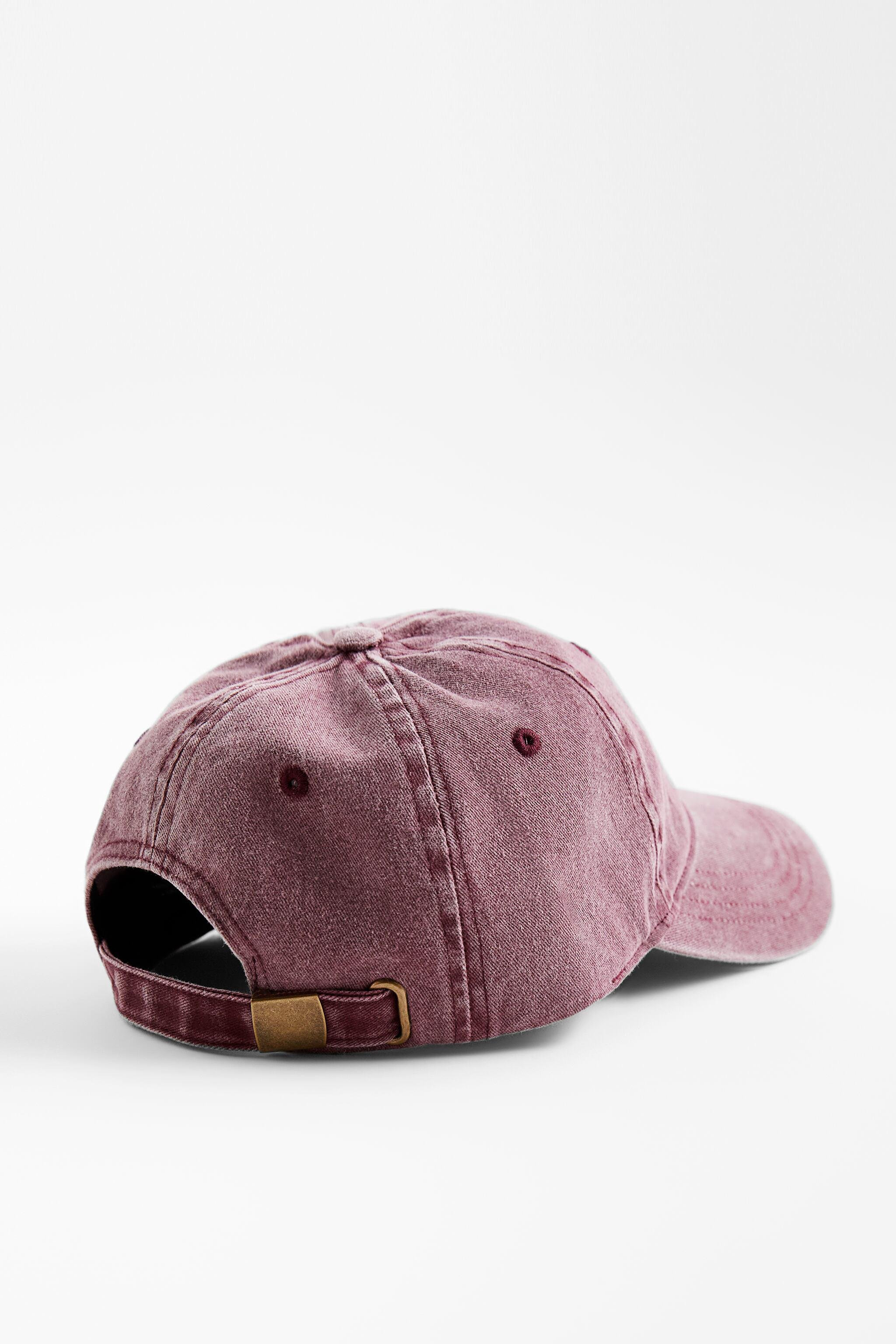 WASHED EFFECT HAT 3