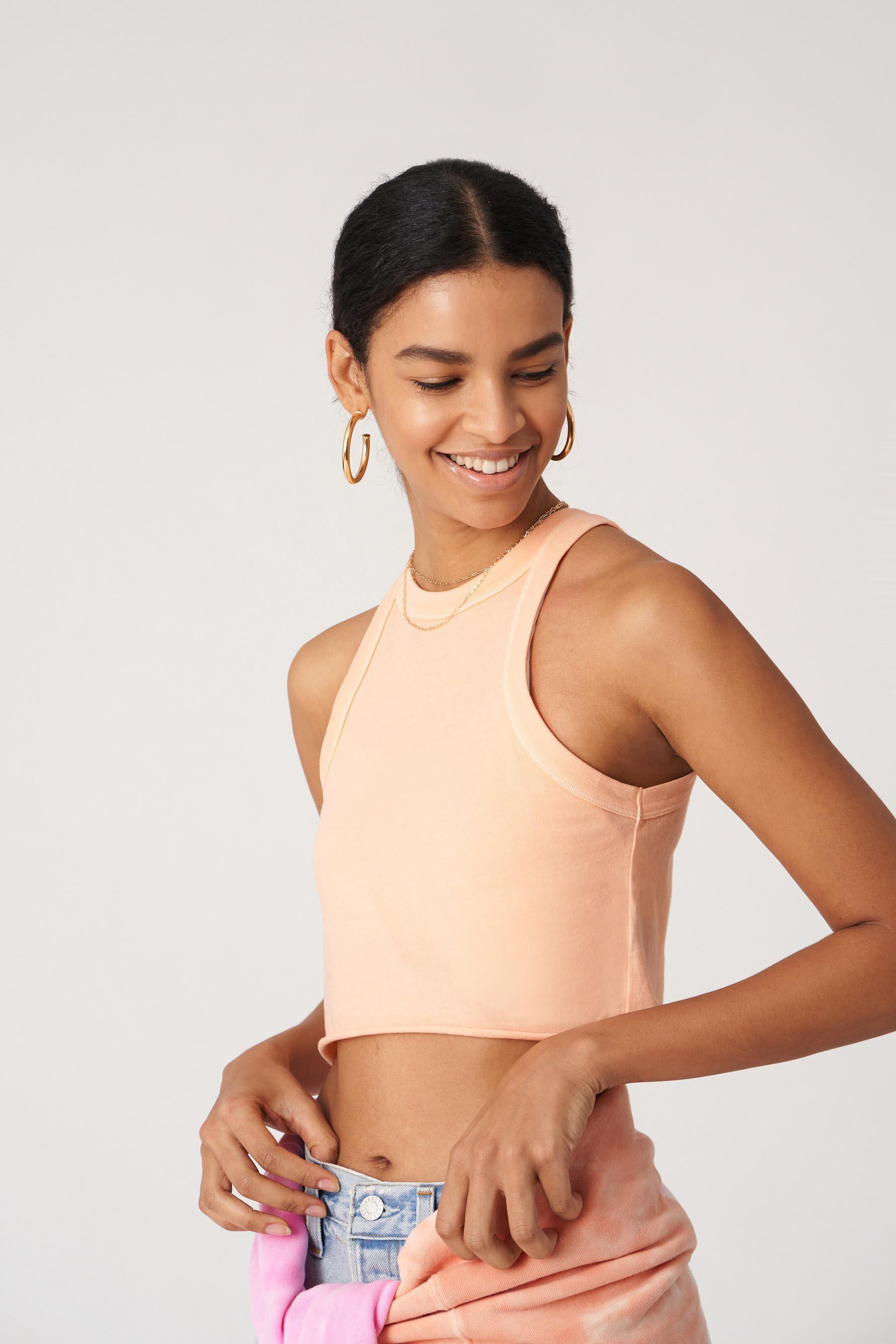 The Rivington Weekend Cropped Tank
