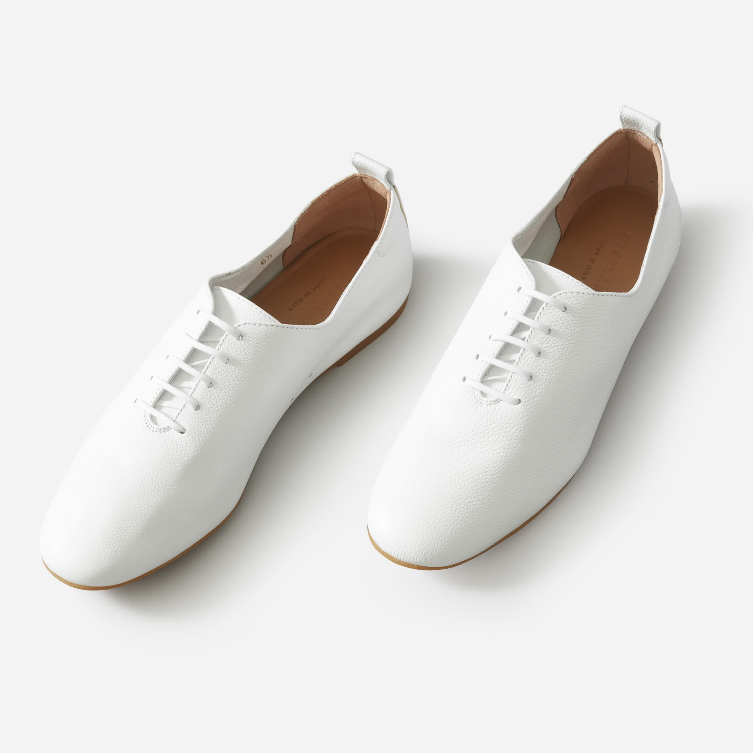 The Leather Lace-Up Flat 2
