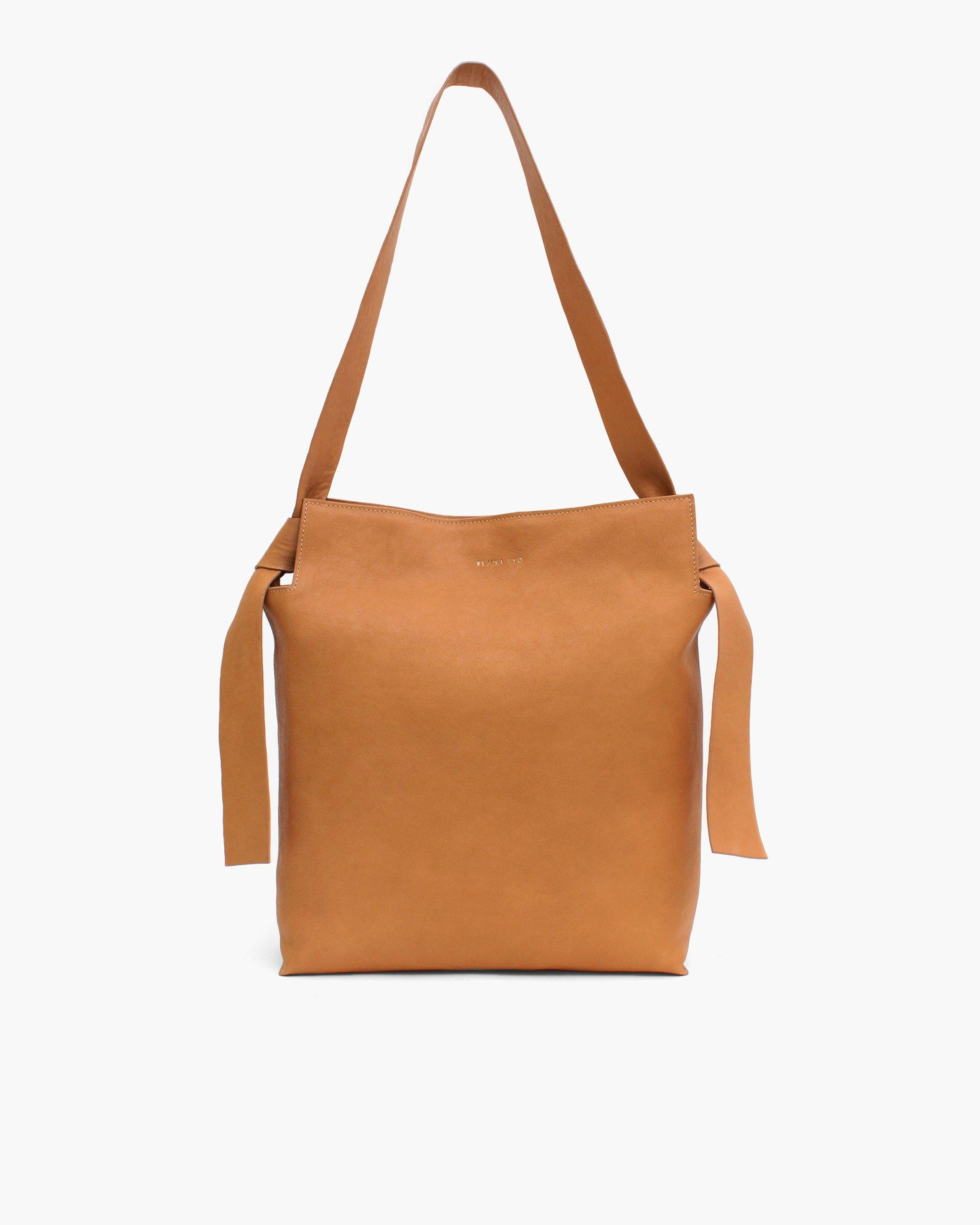 Angela Tote Leather Tan
