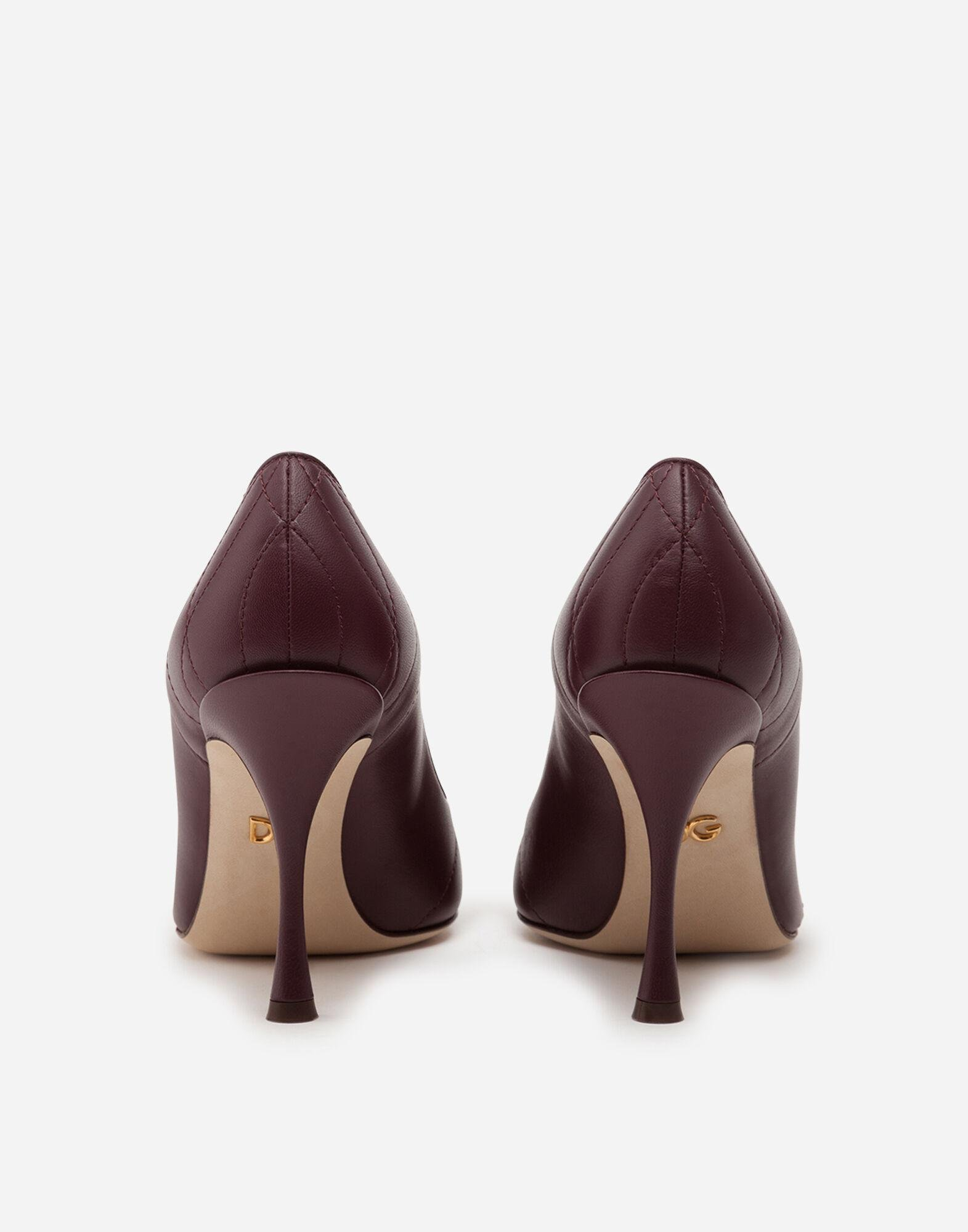Quilted nappa leather Devotion pumps 2