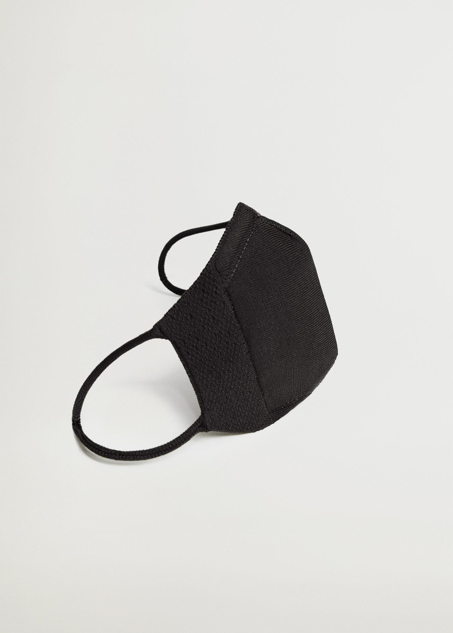 Reusable approved knitted face mask