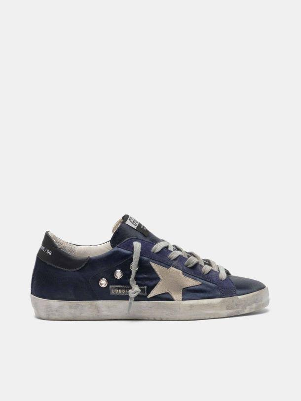 Super-Star sneakers in satin with key chain