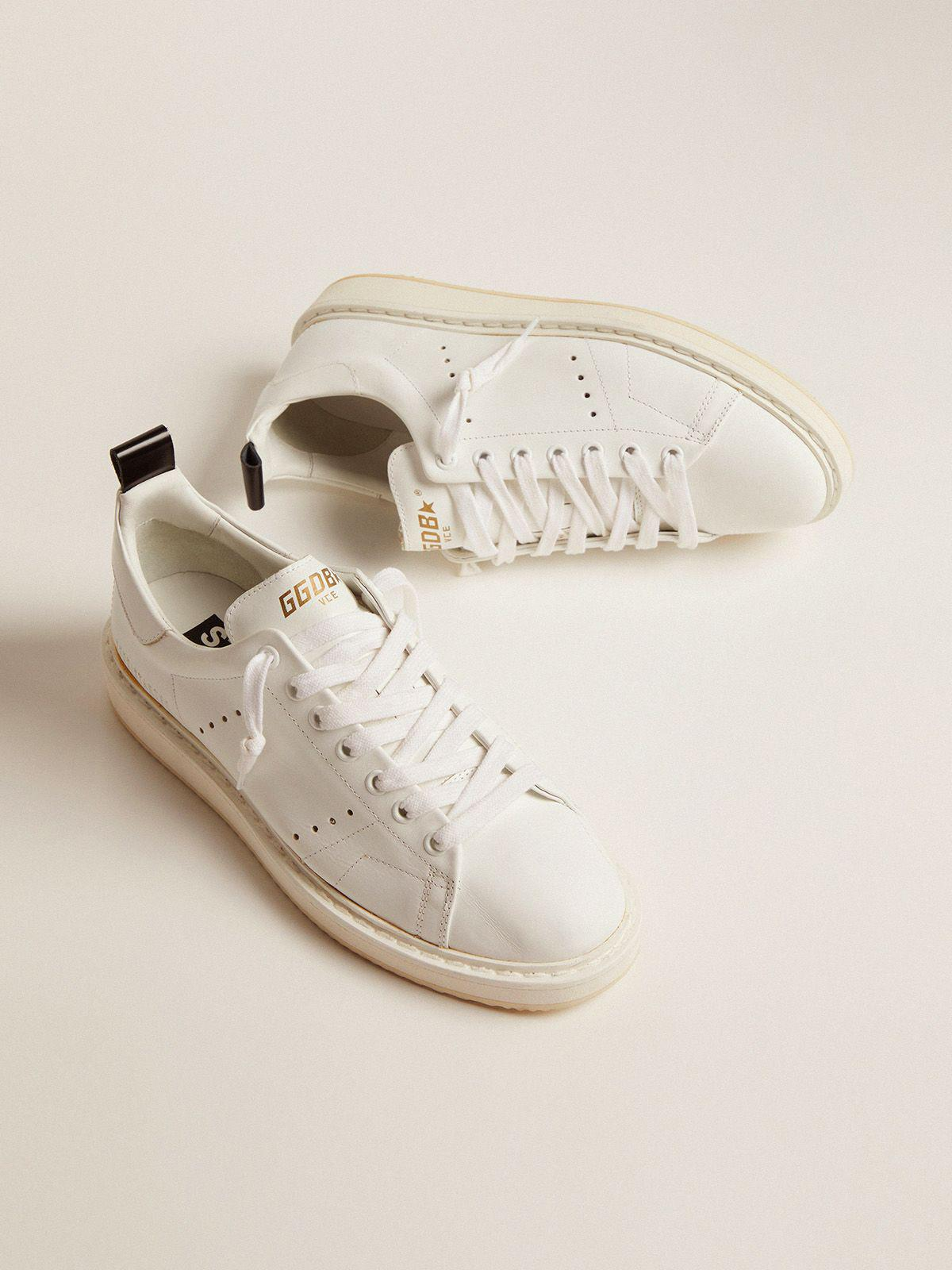 Starter sneakers in total white leather 1