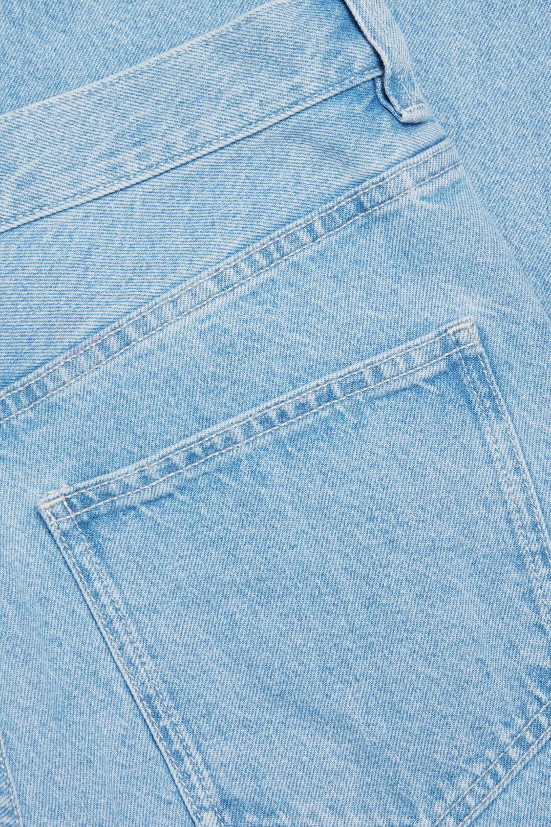STRAIGHT MID-RISE JEANS 8