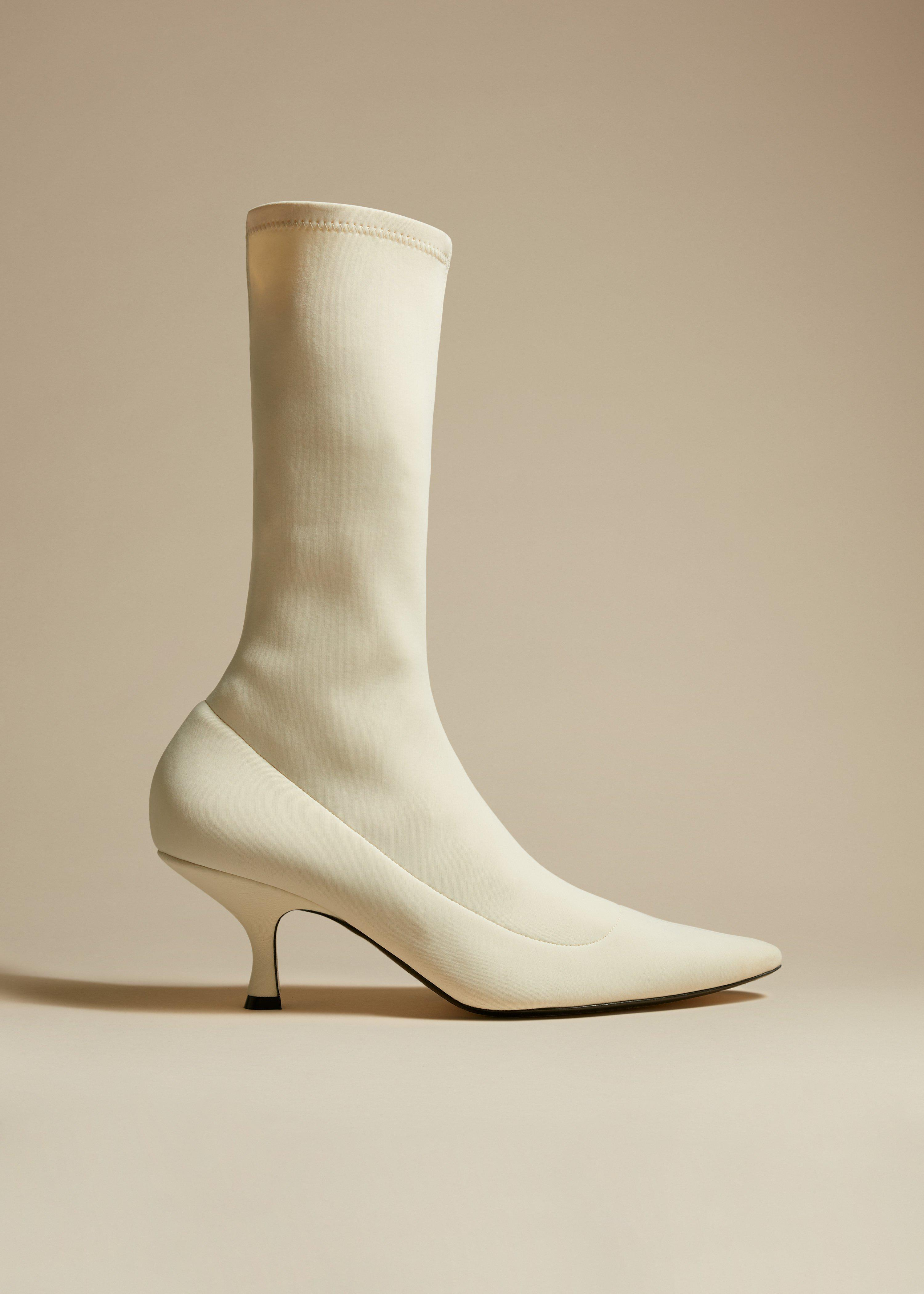 The Taylor Boot in White