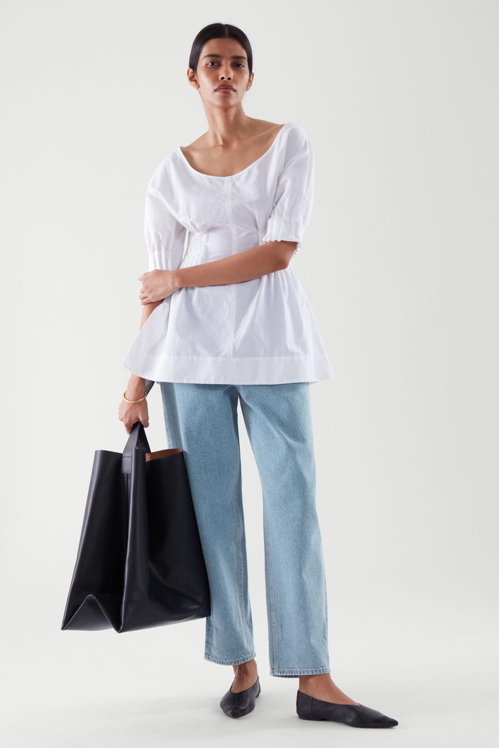 TAPERED HIGH-RISE JEANS 2