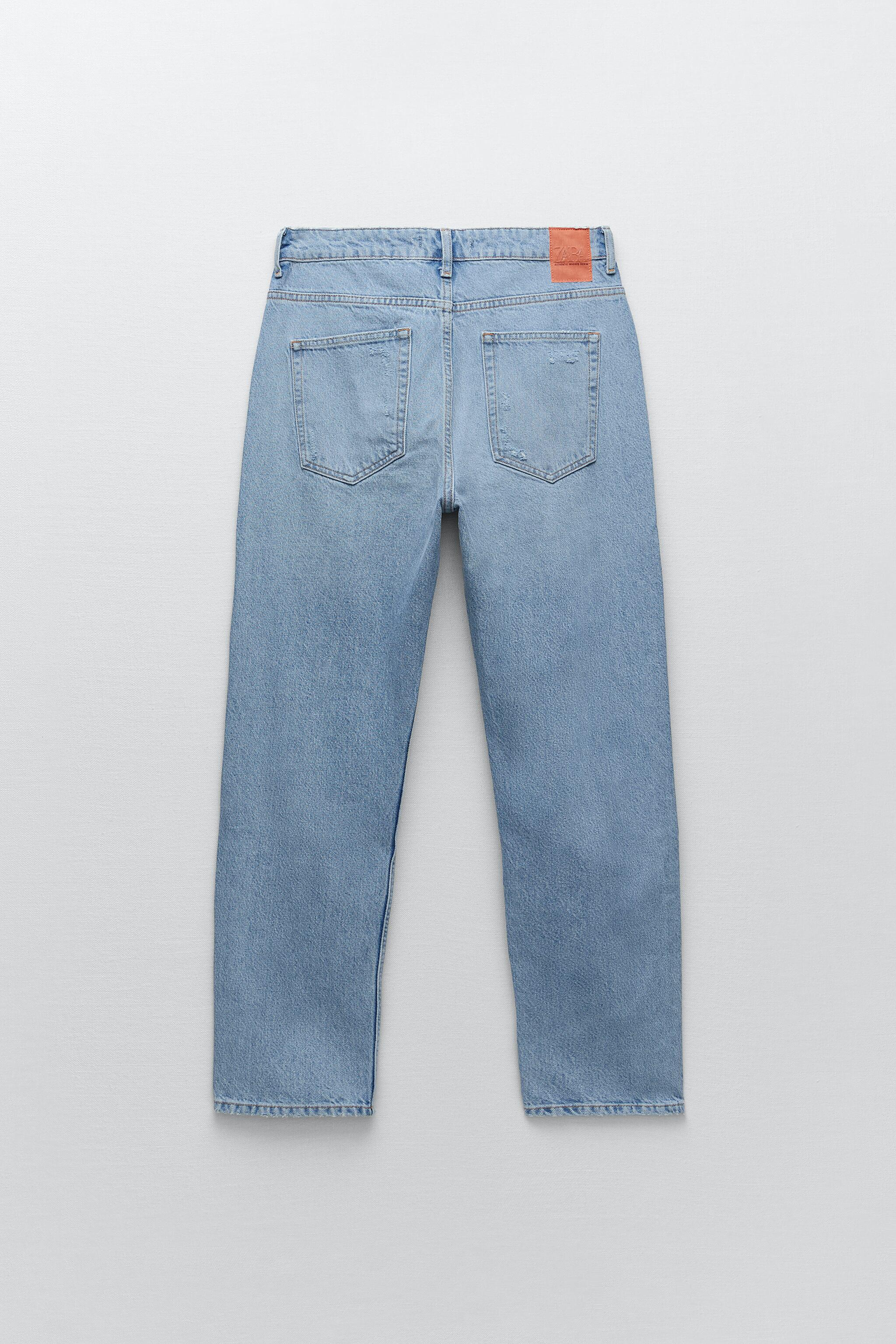 Z1975 RELAXED FIT RIPPED JEANS 8