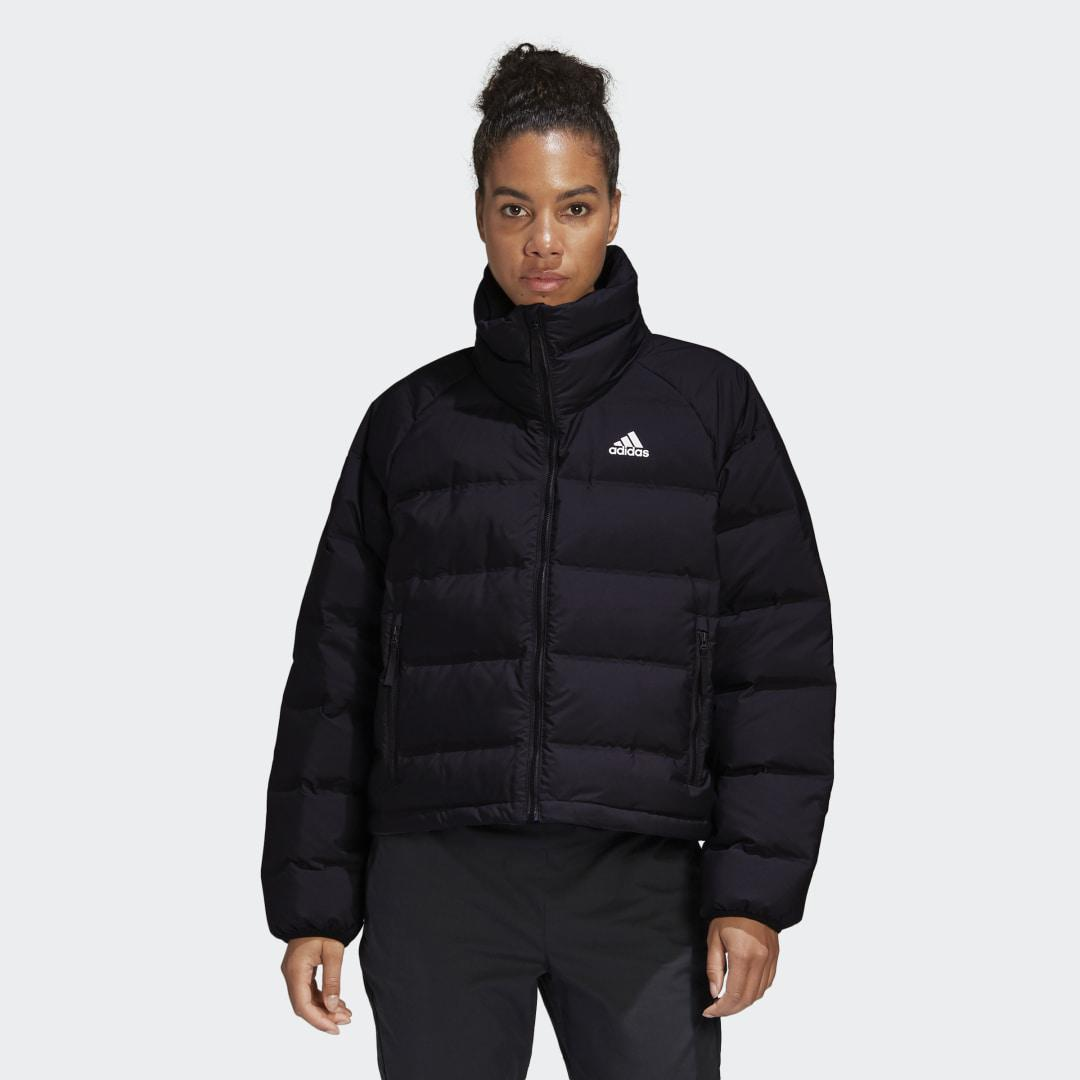 Helionic Relaxed Fit Down Jacket Black
