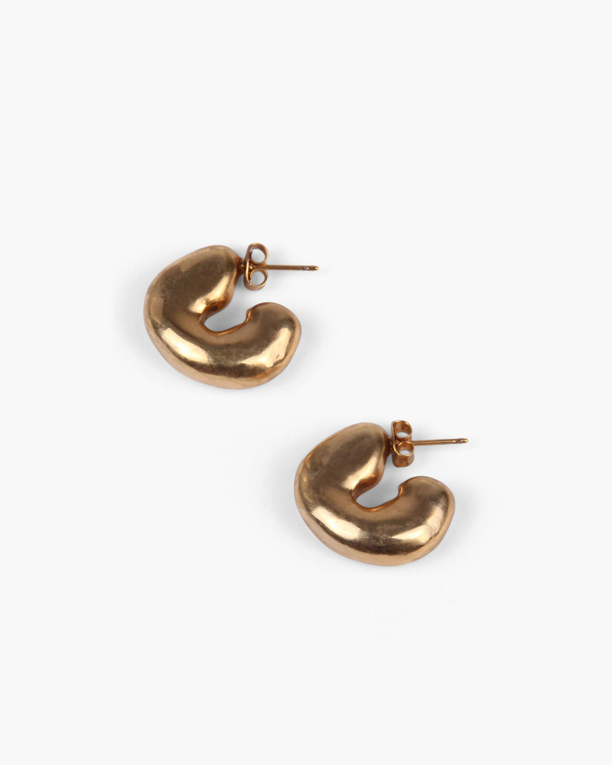 Volume Hoops Gold Plated