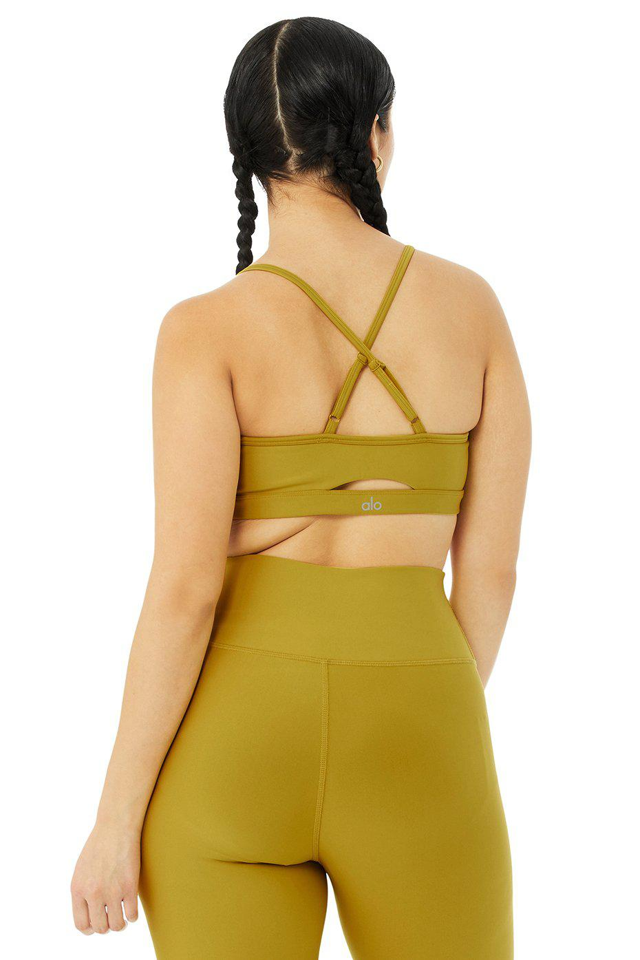 Airlift Intrigue Bra - Chartreuse 10