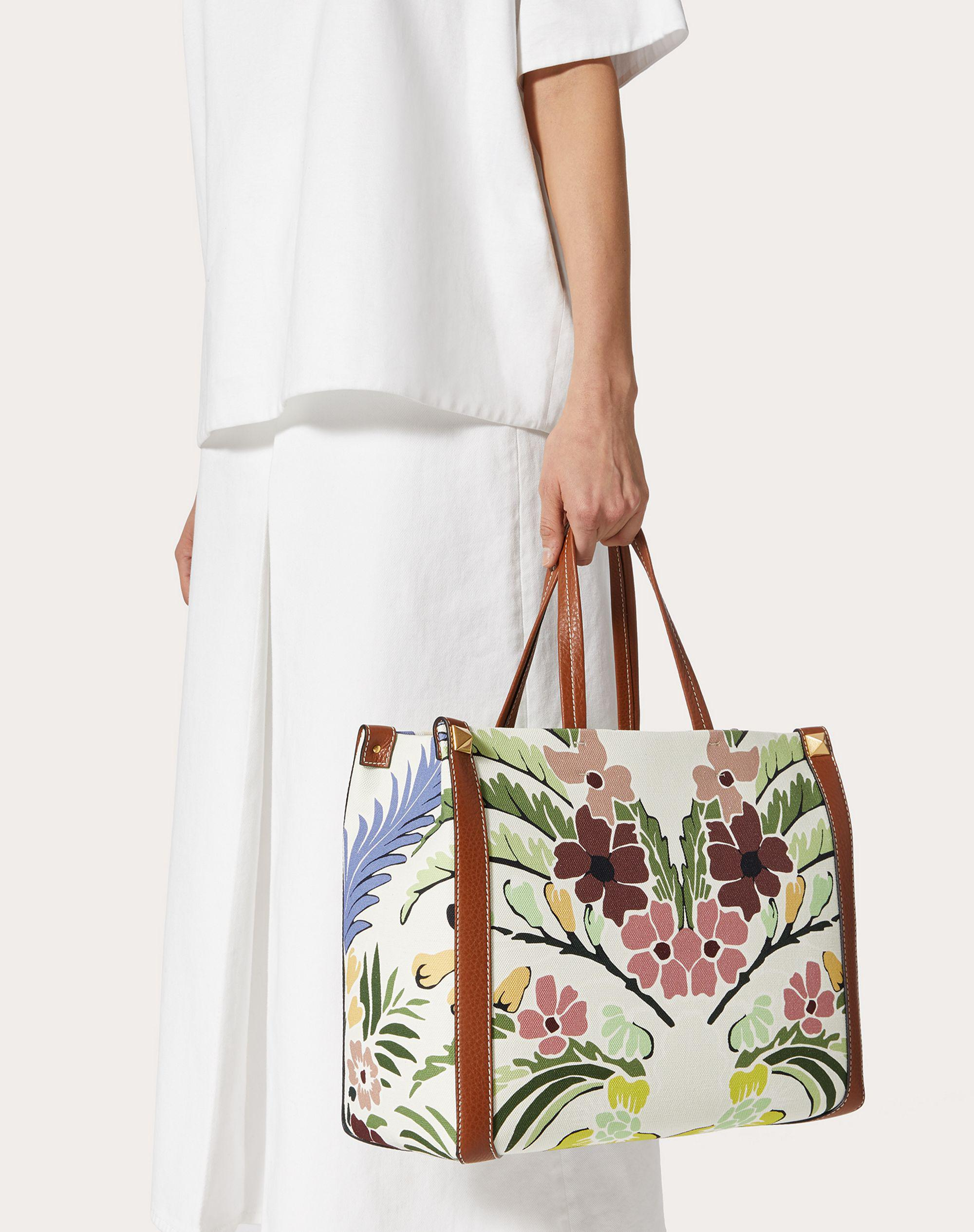 Small Canvas Tote Bag with Print 5