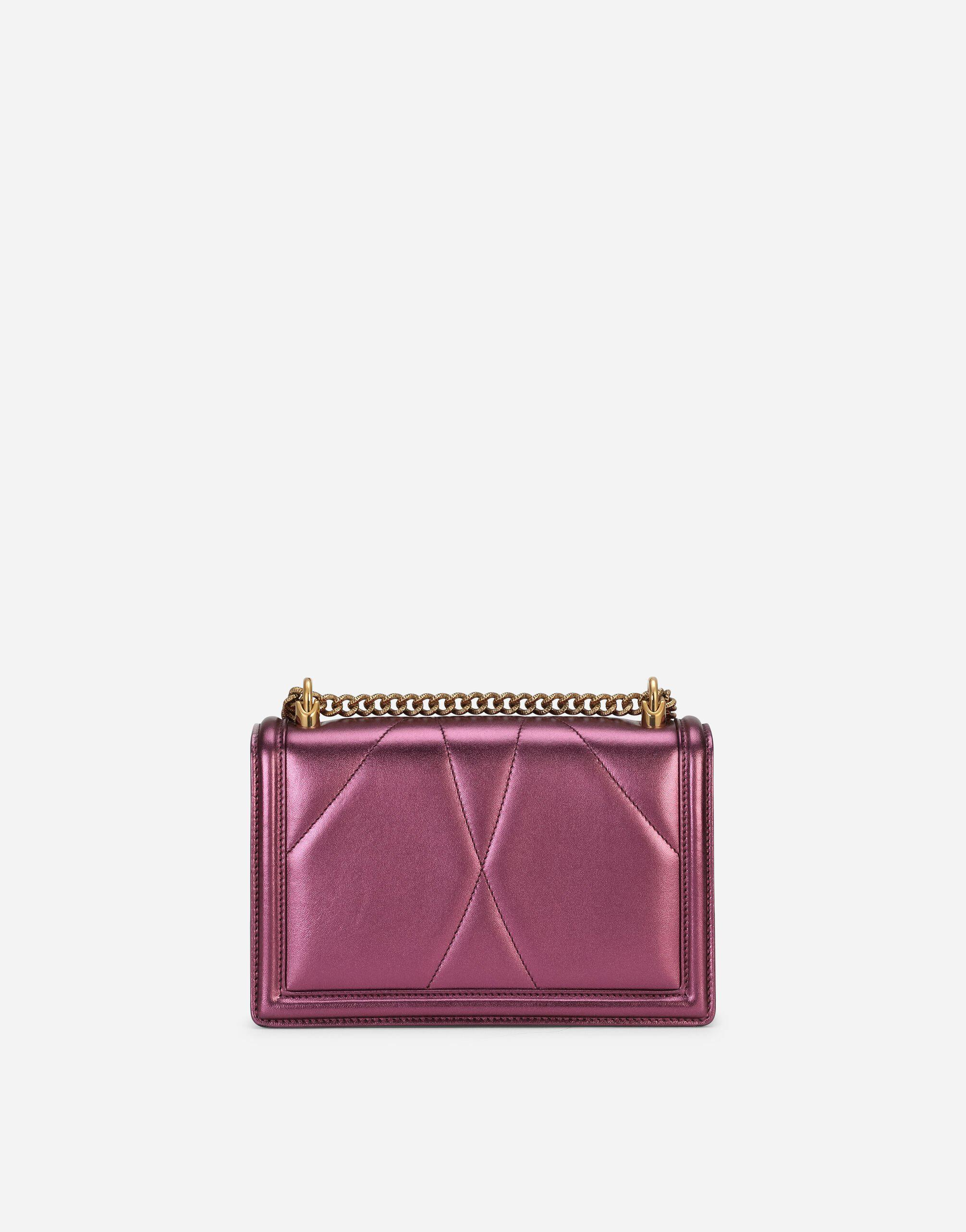 Medium Devotion crossbody bag in quilted nappa mordore leather 2