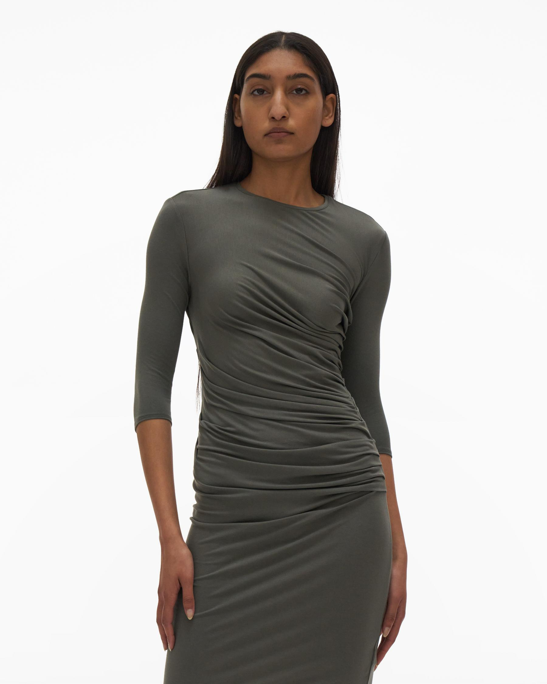 RUCHED DRESS 1