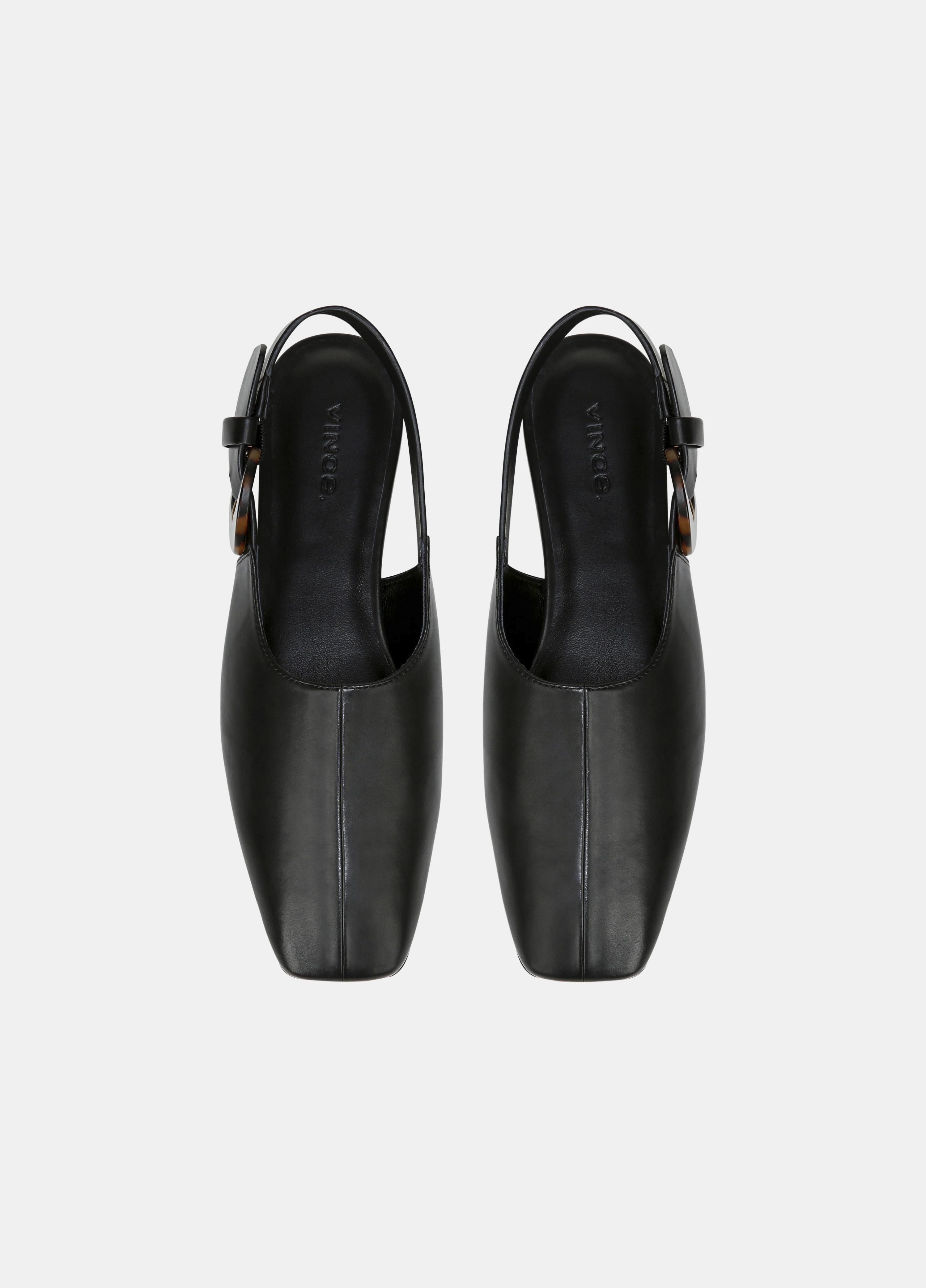 Leather Cadot Buckle Shoe 3