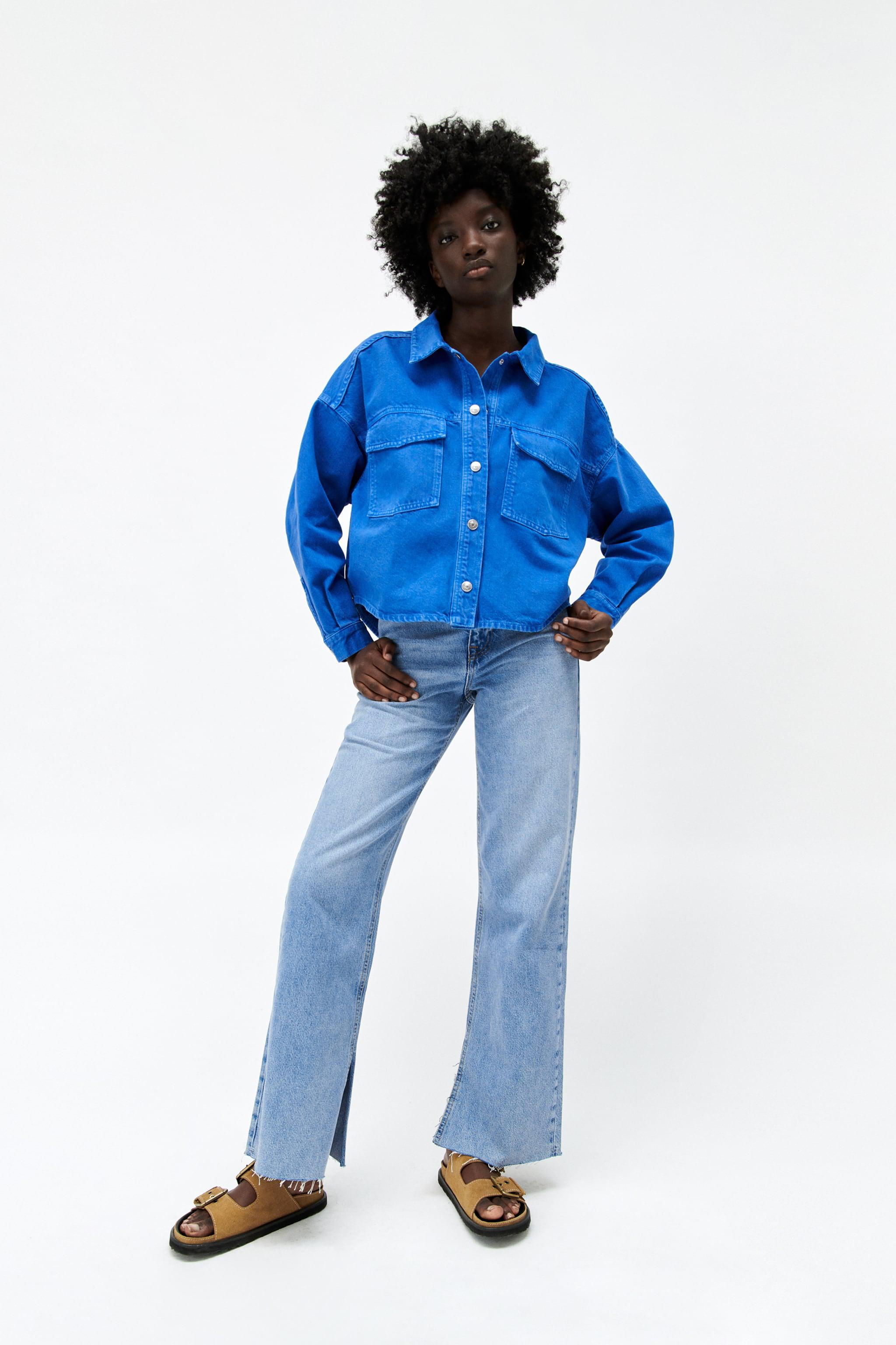 SOLID COLOR OVERSHIRT