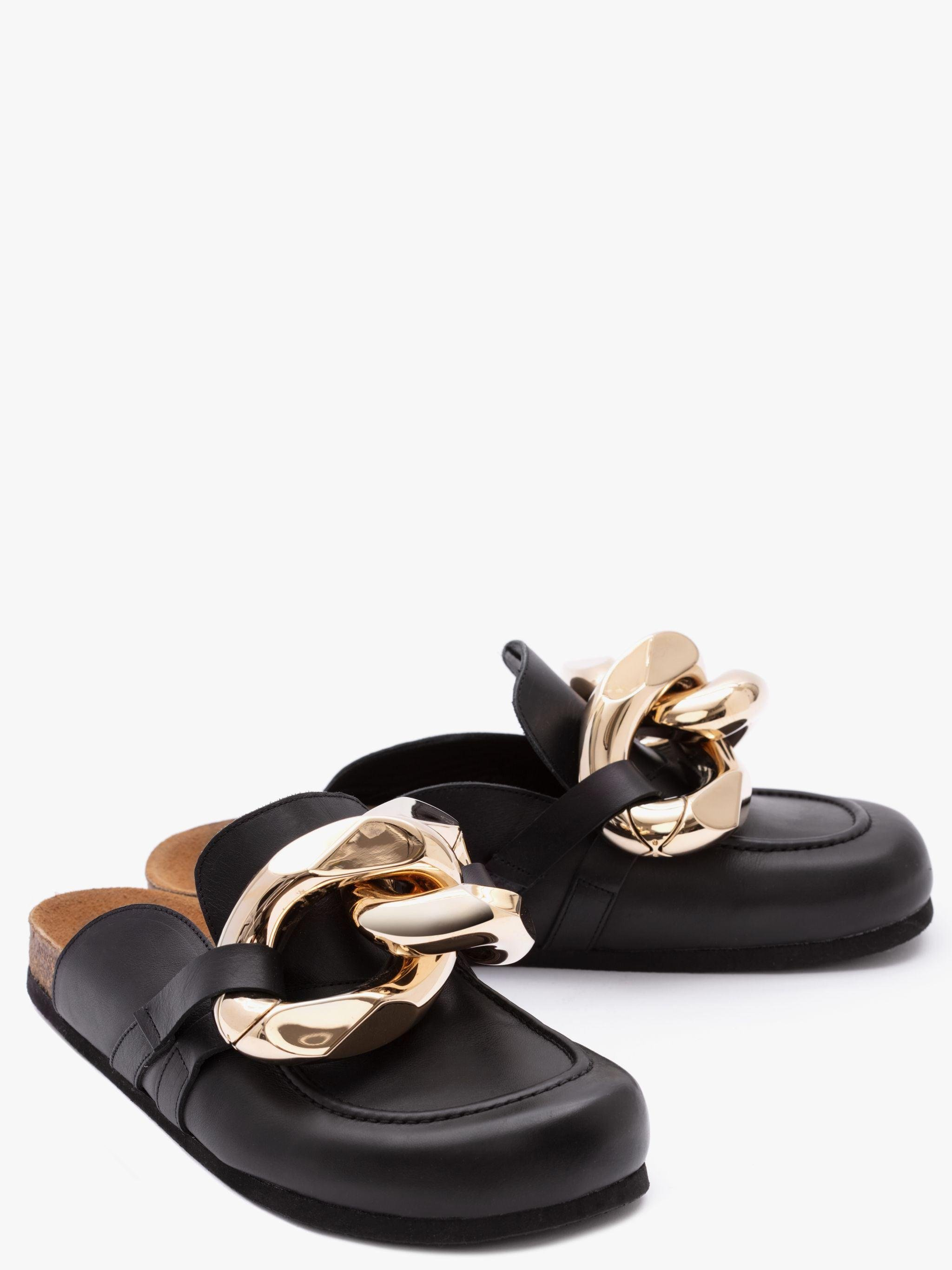 Women's Chain Loafer Mules 1