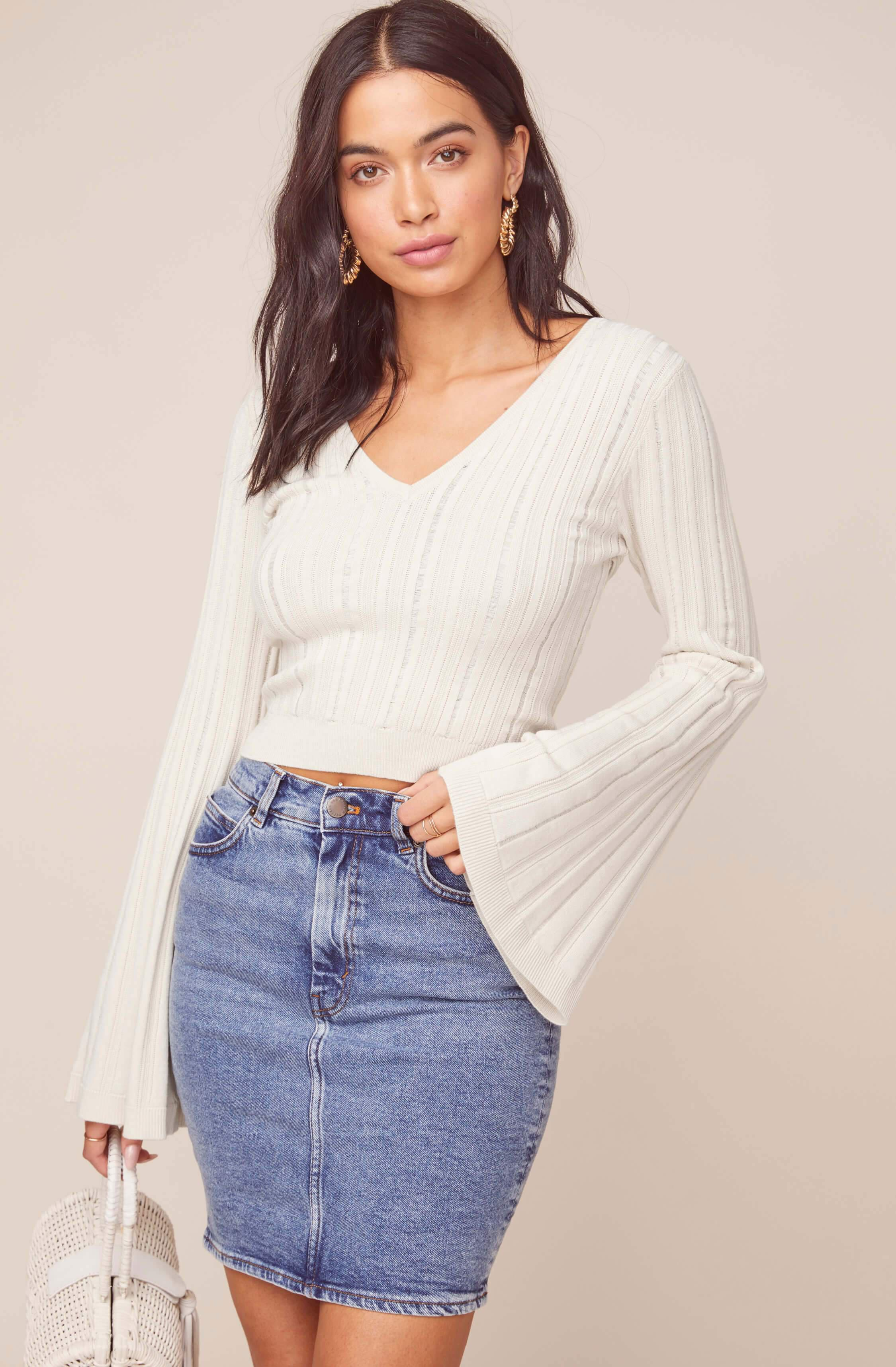 Voyage Bell Sleeve Sweater