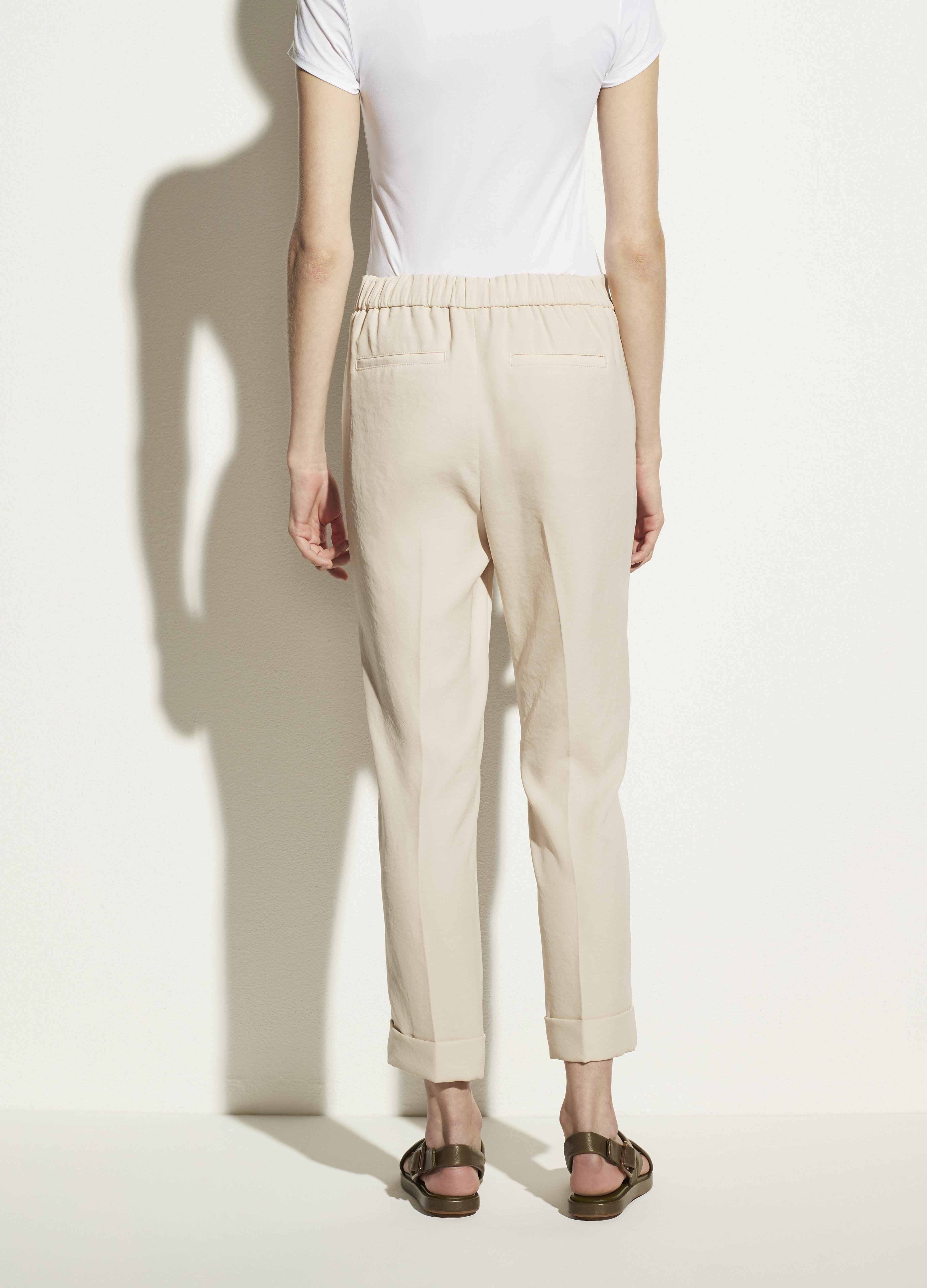 Cuffed Tapered Pull On Pant 3