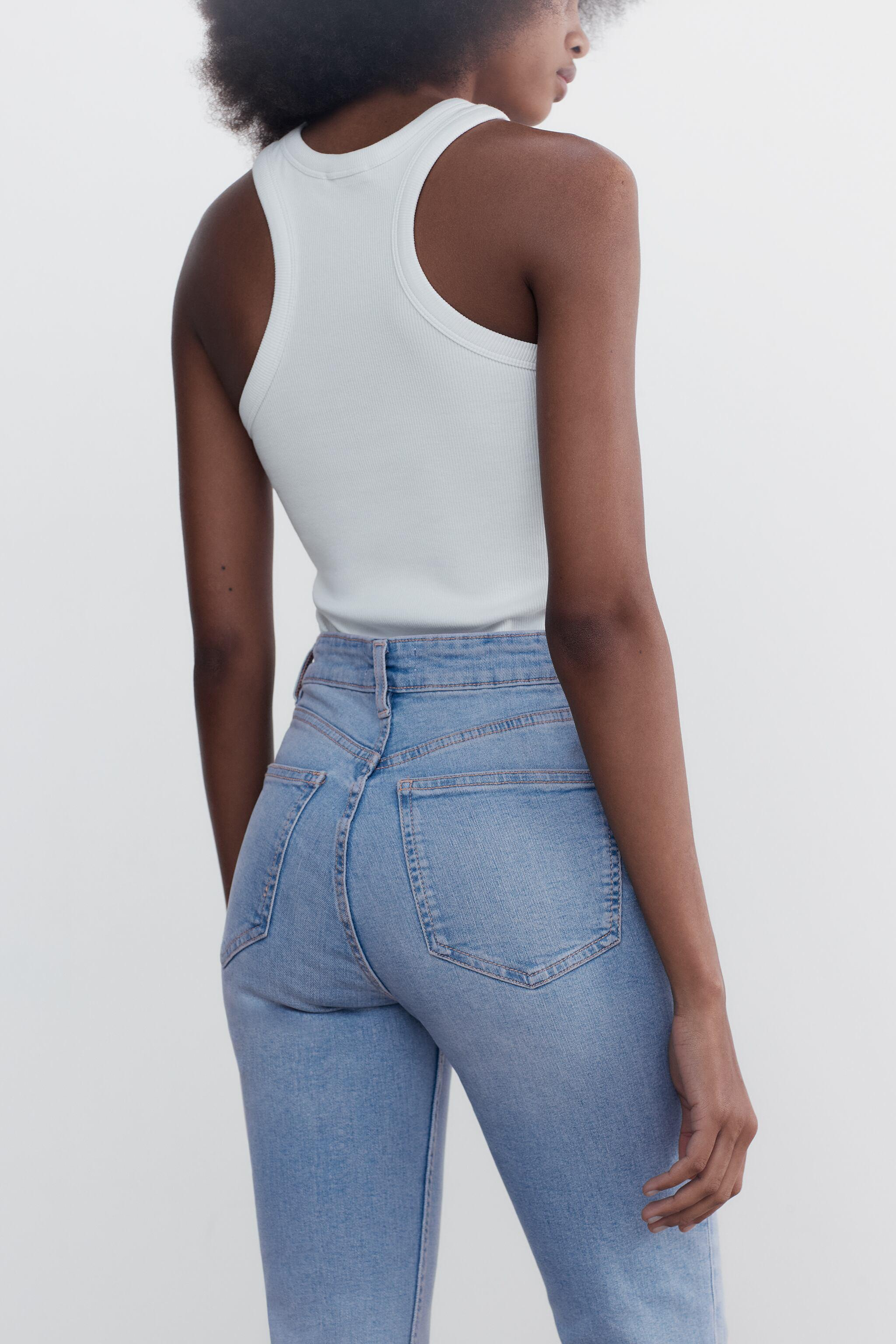 CROPPED FLARE JEANS 4