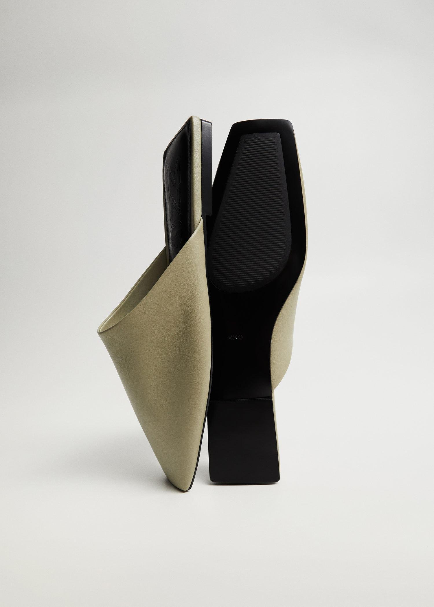 sling back leather babouches 1
