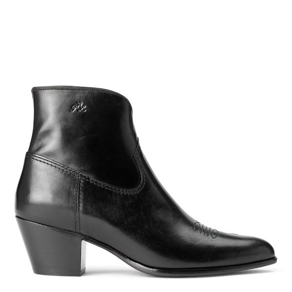 Lucille Leather Boot 0