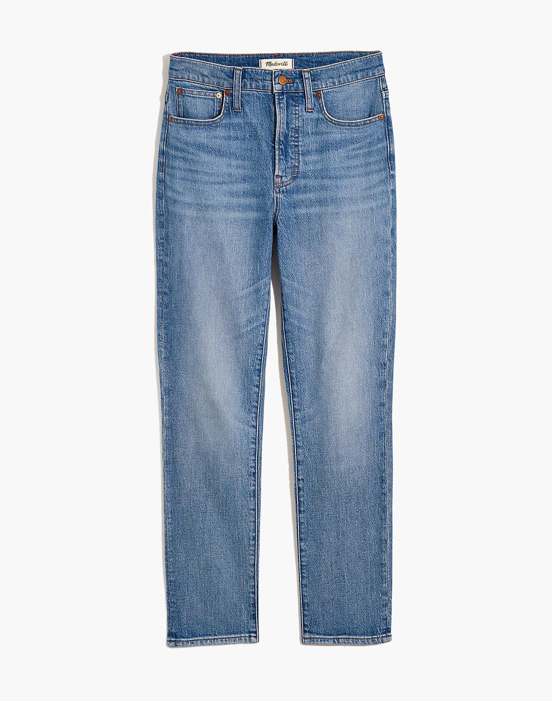 The Tall Perfect Vintage Crop Jean in Clymer Wash 3