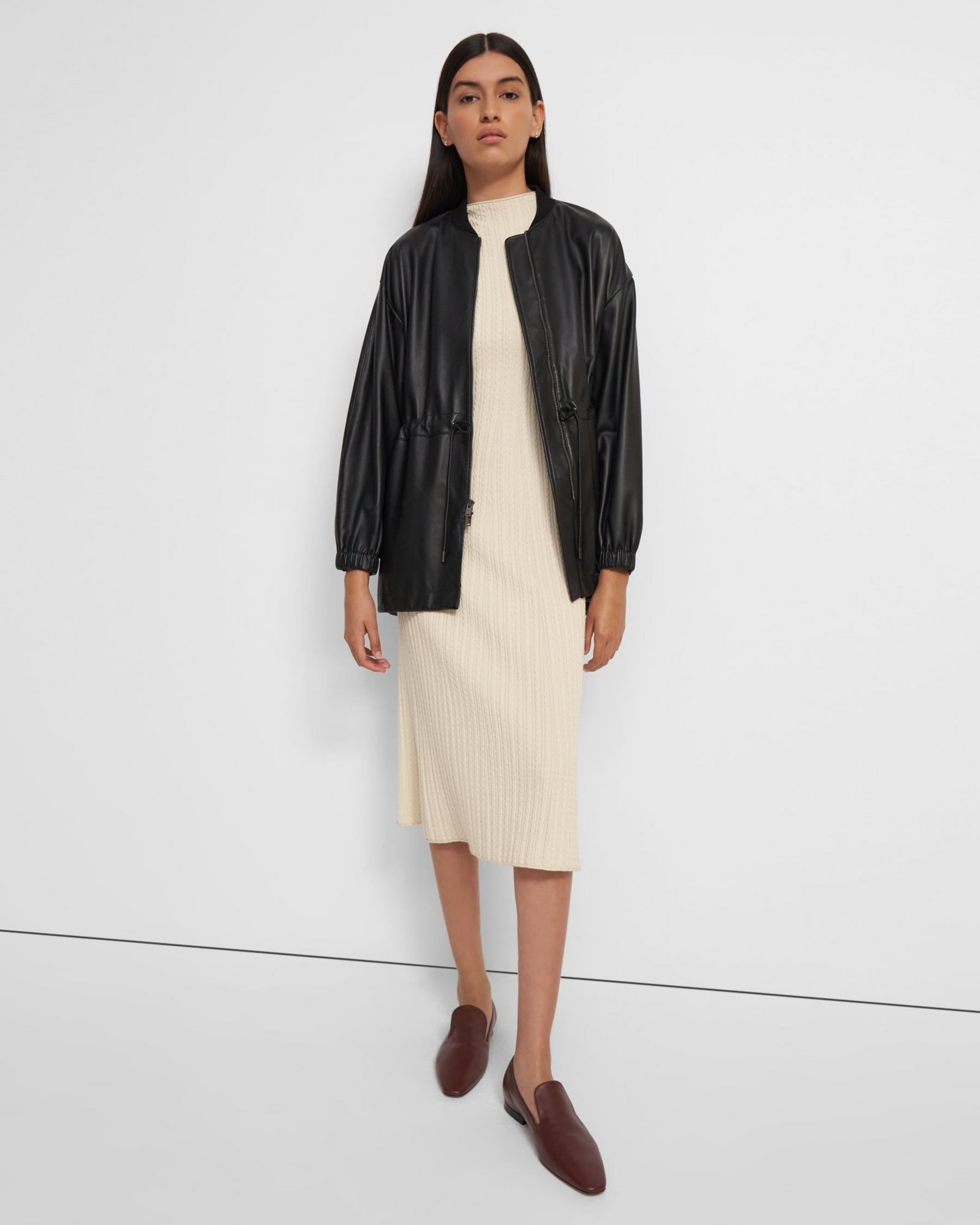 Anorak Jacket in Leather