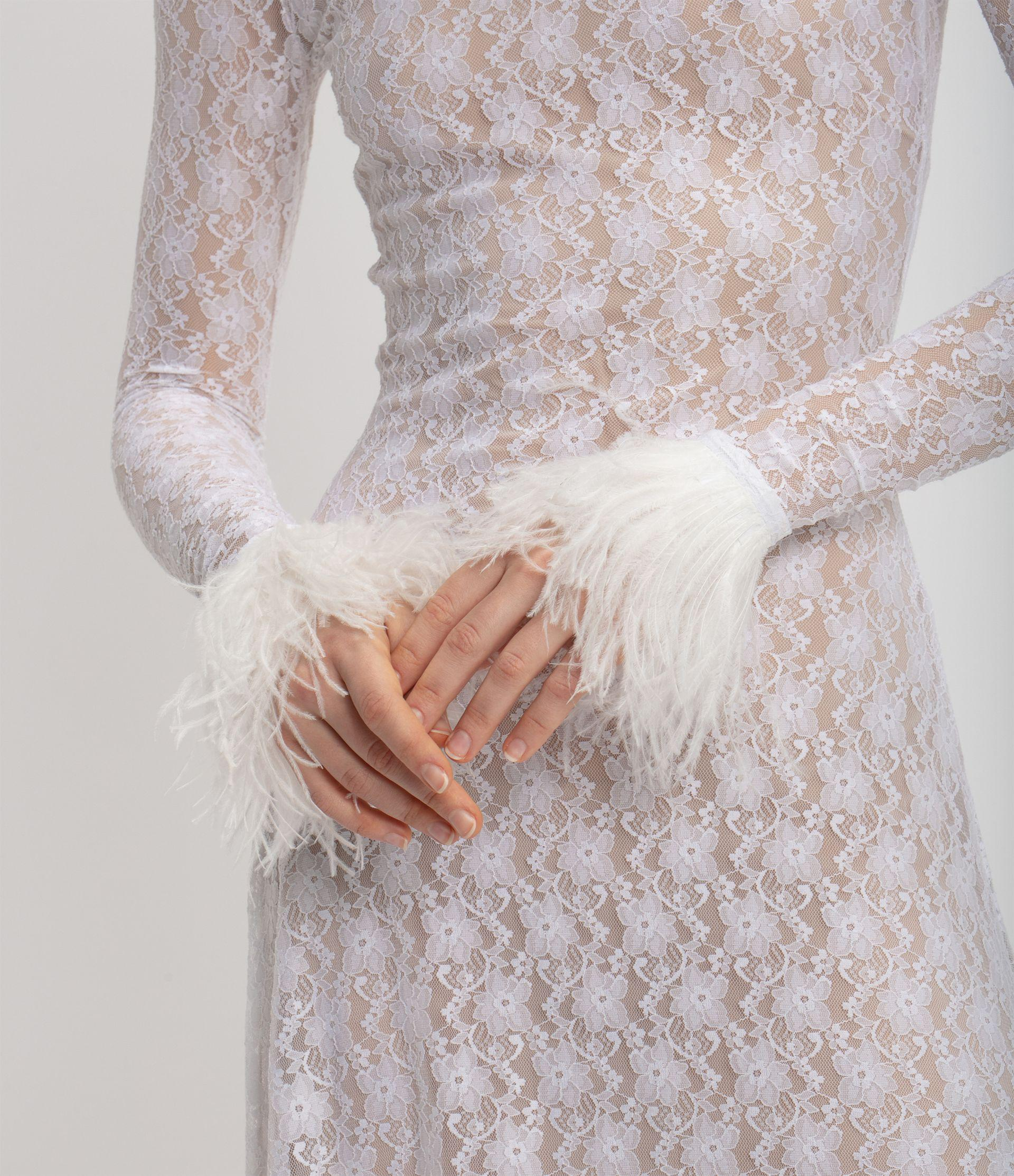 Christopher Kane Bridal: Lace Gown 5