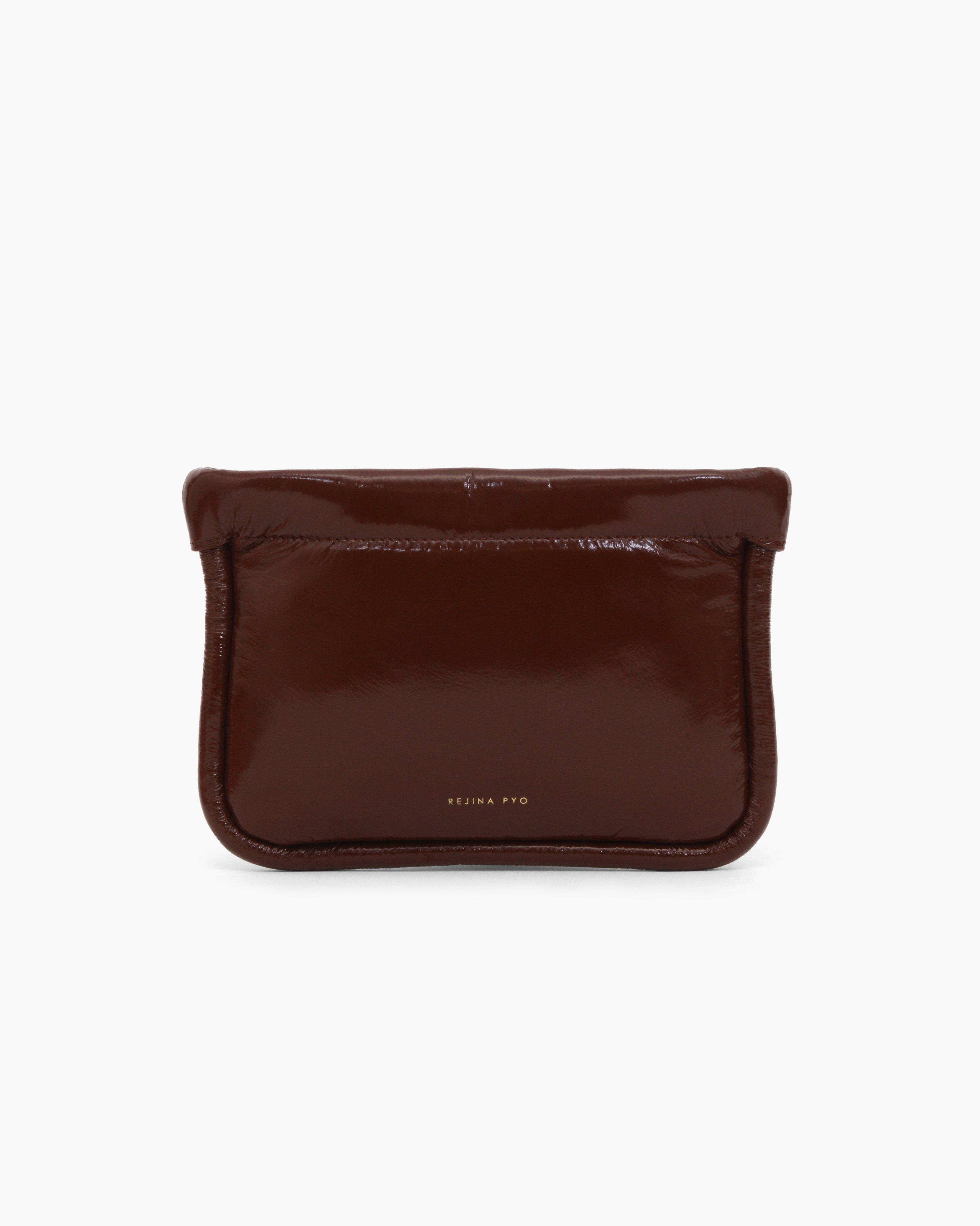 Lea Pouch Leather Liquid Rust