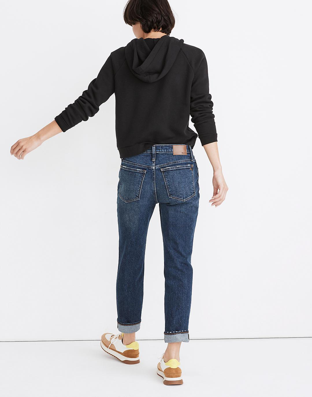 Tomboy Straight Jeans in Chaseley Wash 2