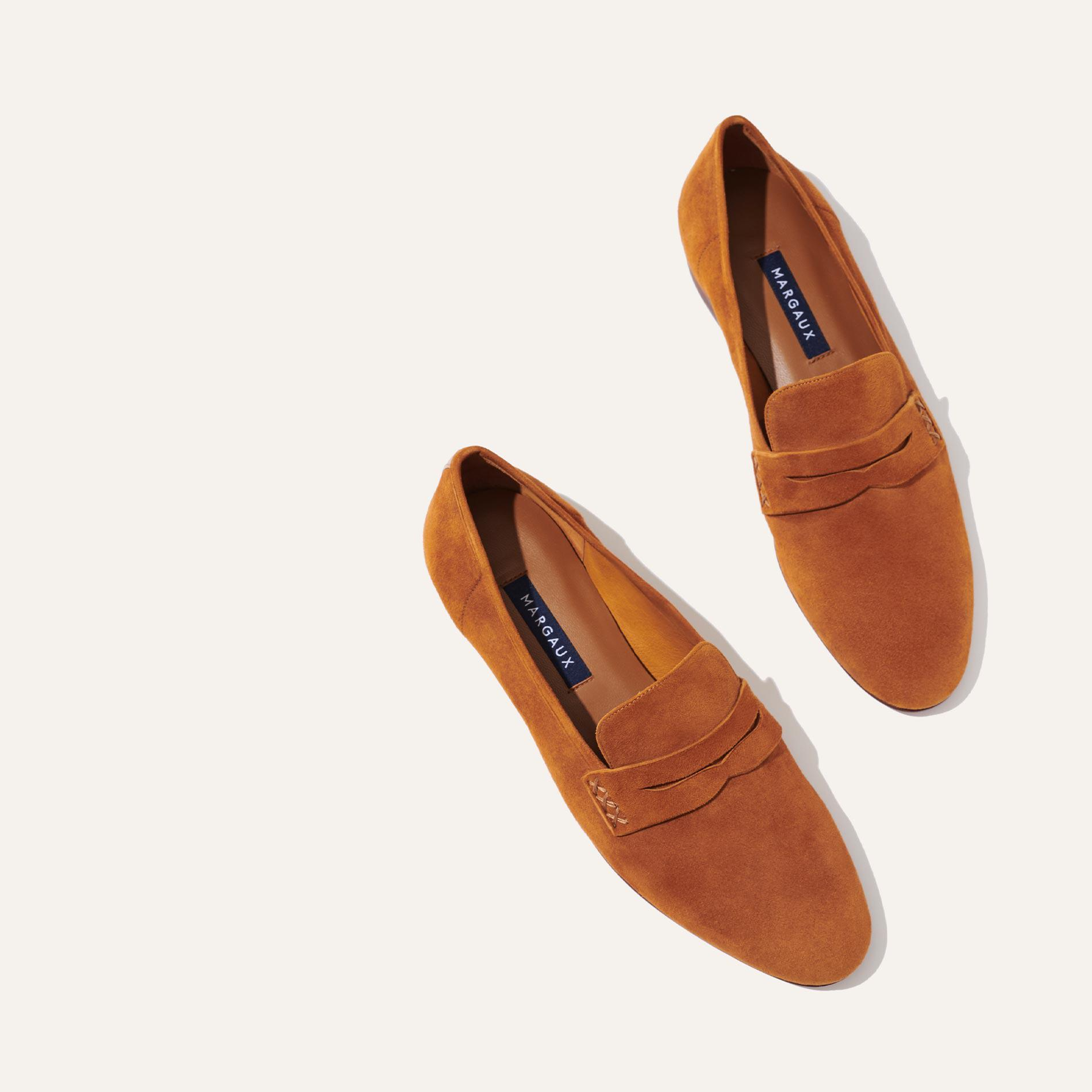 The Penny - Caramel Suede