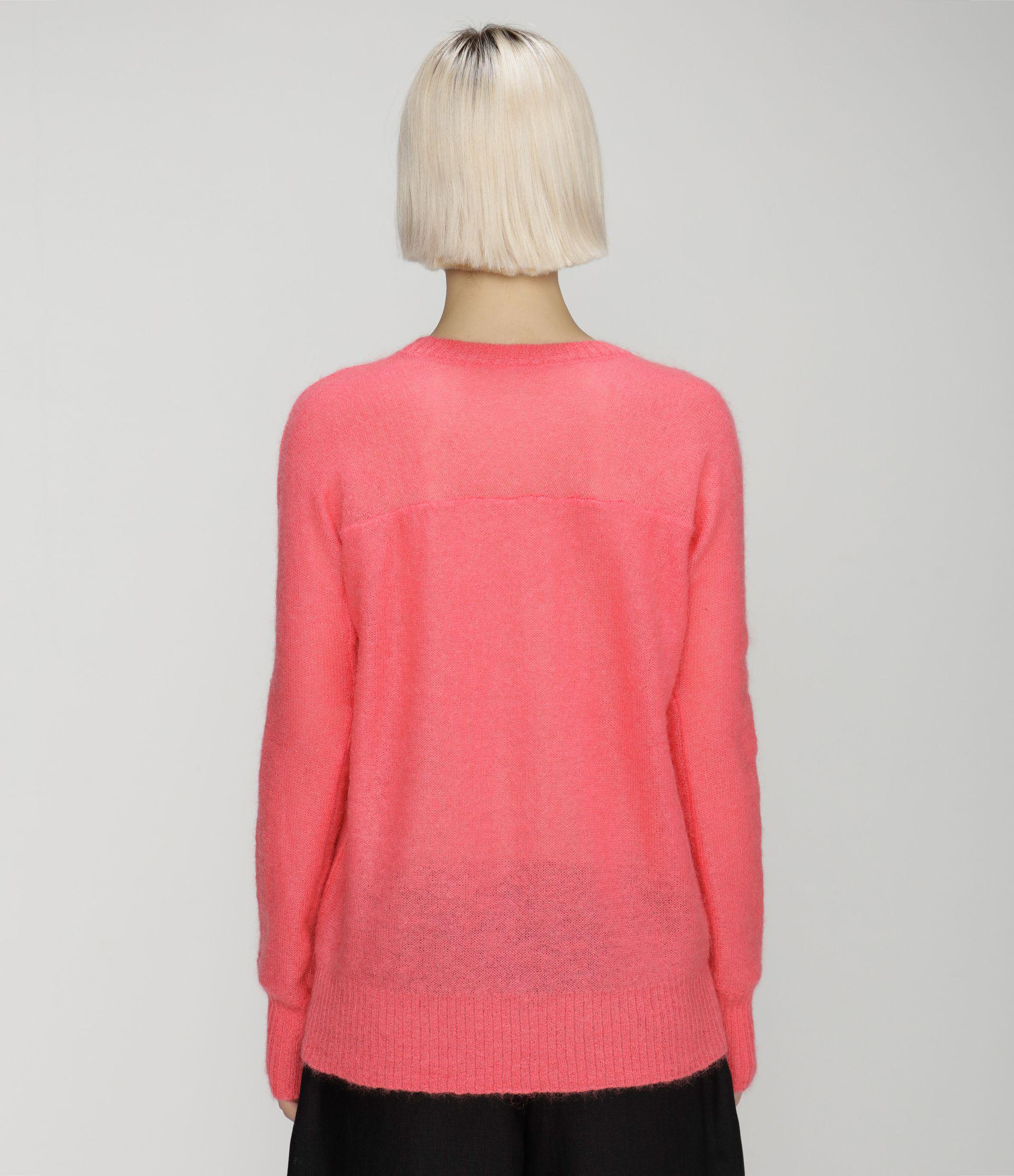 Squiggle sequin mohair sweater 2