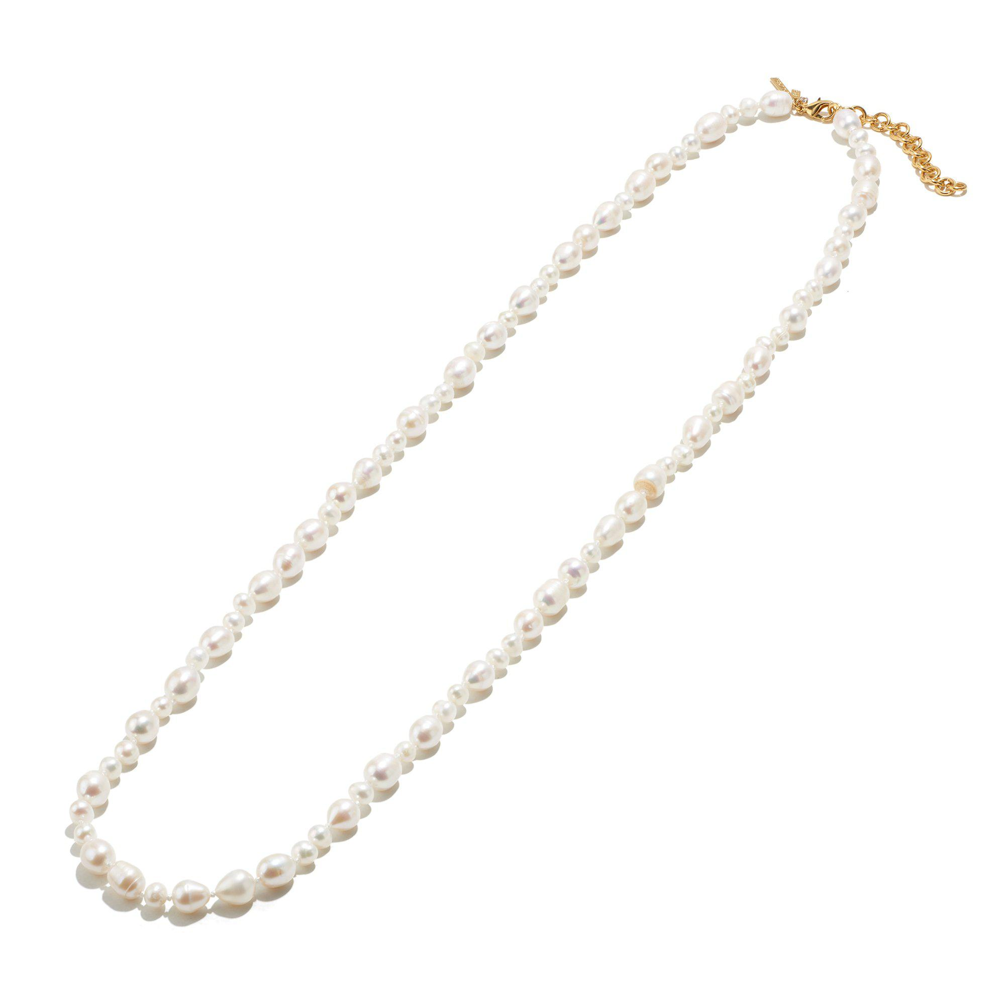FRESHWATER PEARL ROPE LENGTH NECKLACE
