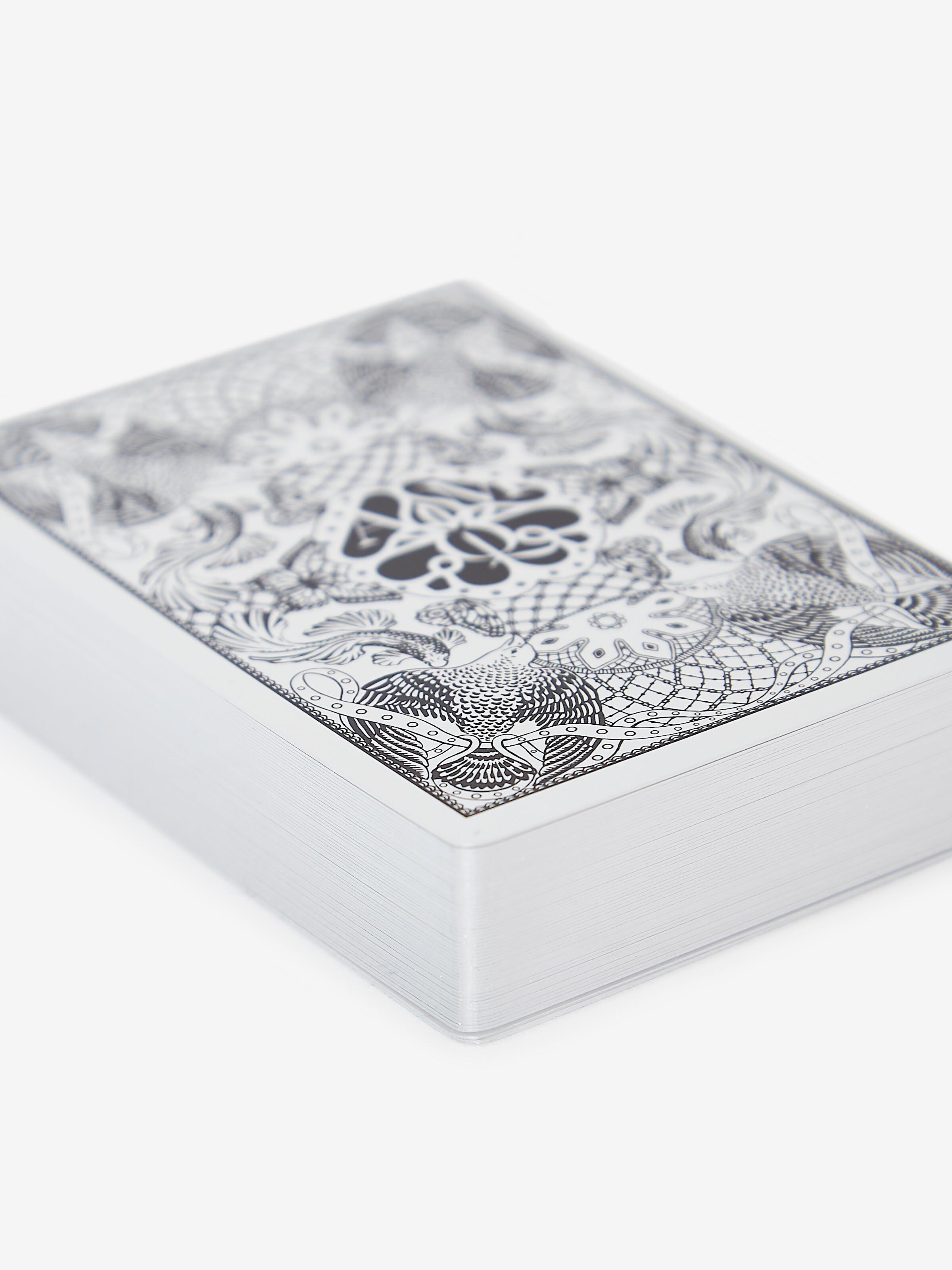 Skull Leather Playing Card Holder 3