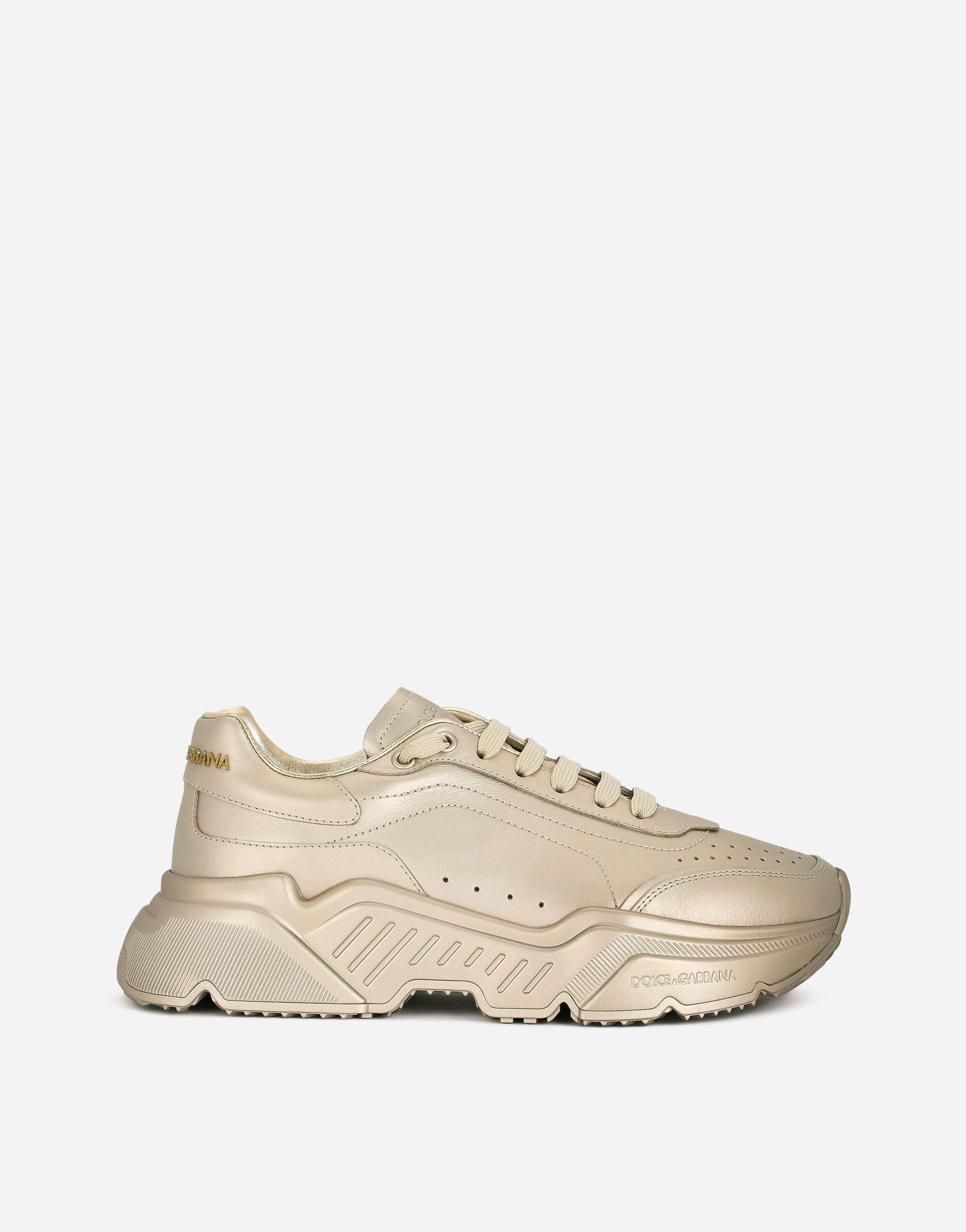 Foiled-effect calfskin nappa Daymaster sneakers