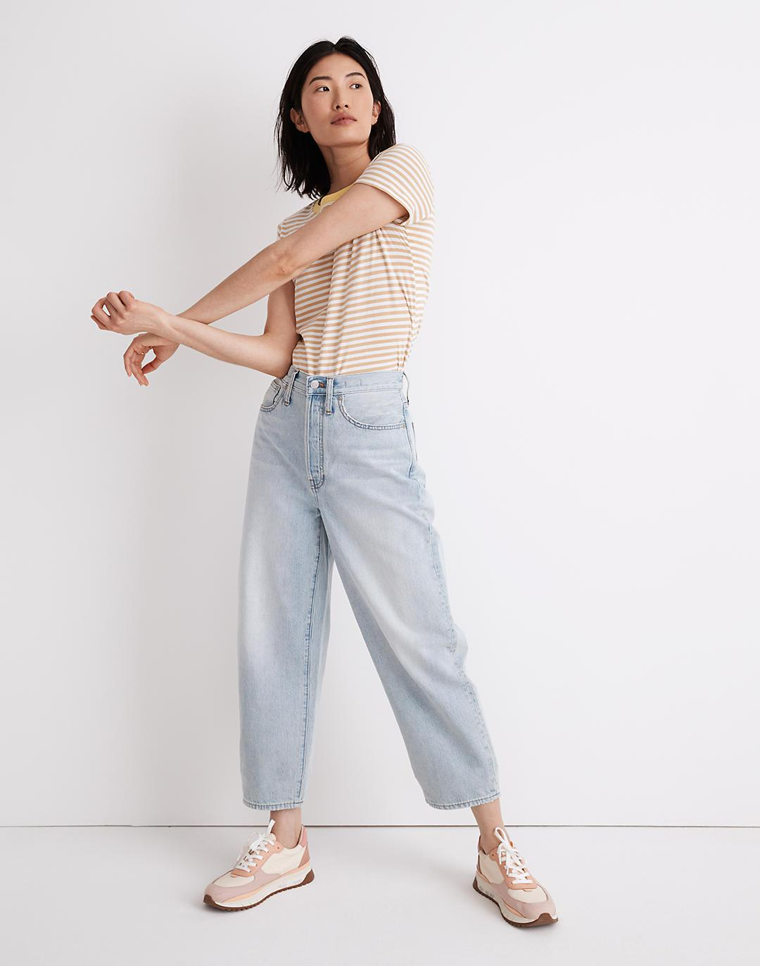 Tall Balloon Jeans in Fitzgerald Wash