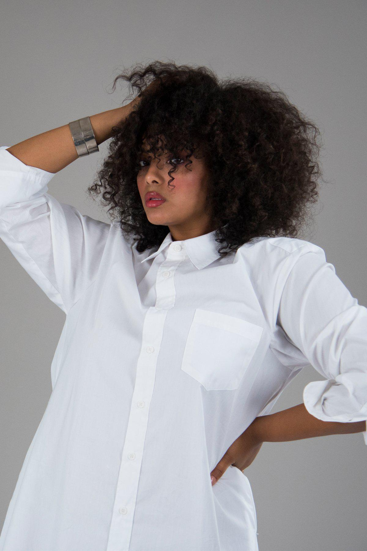Perfect Oversized Shirt in White