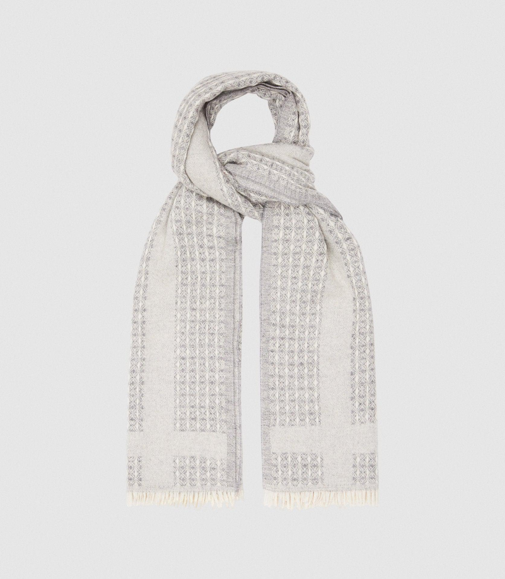 CLAIRE - TEXTURED SCARF