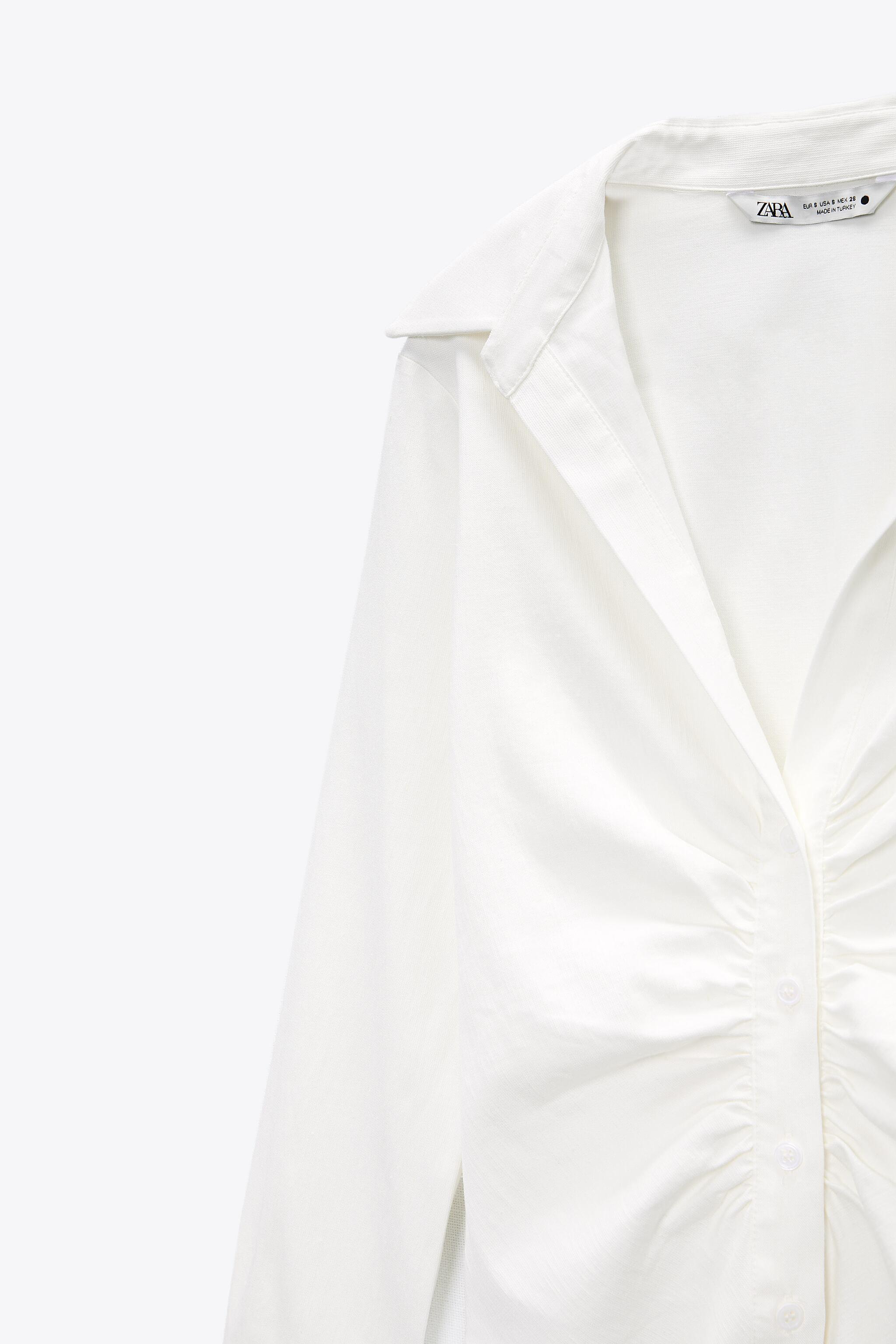 PLEATED TAILORED SHIRT 6