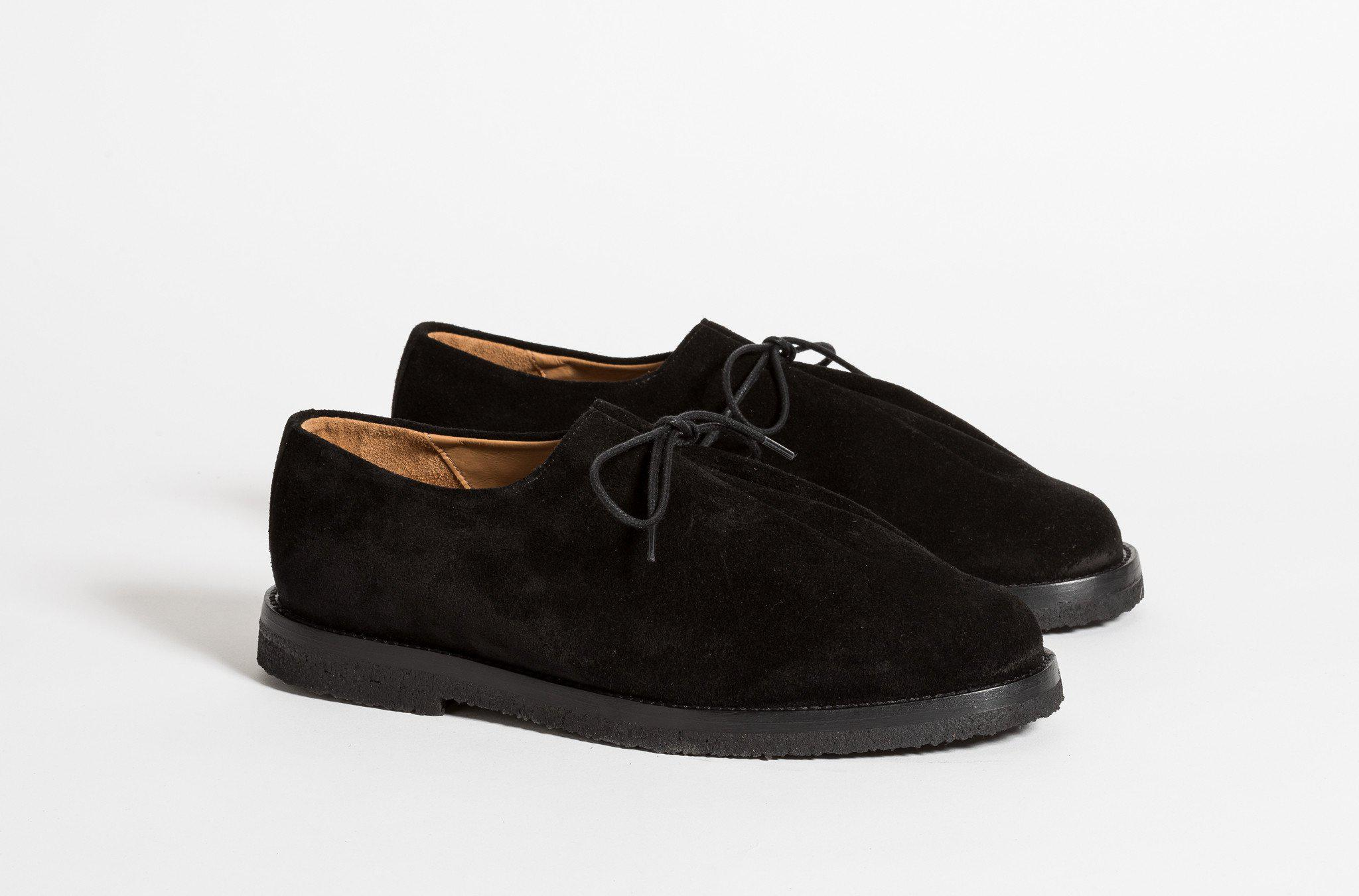 RAY SUEDE BLACK