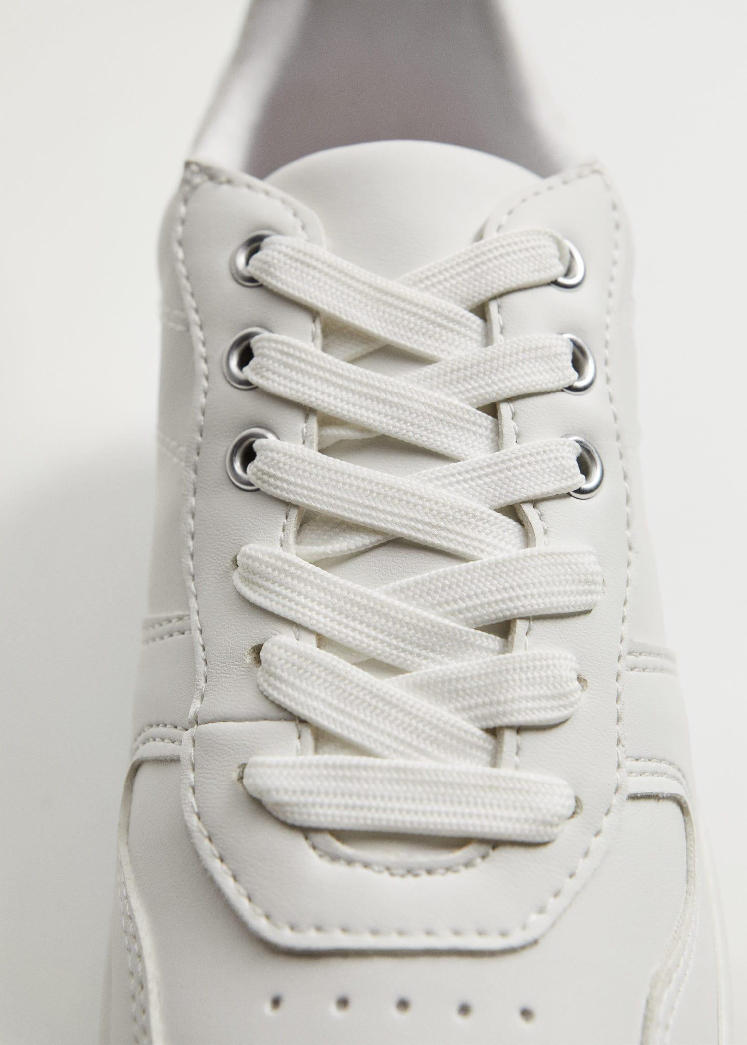 Platform lace-up sneakers 2
