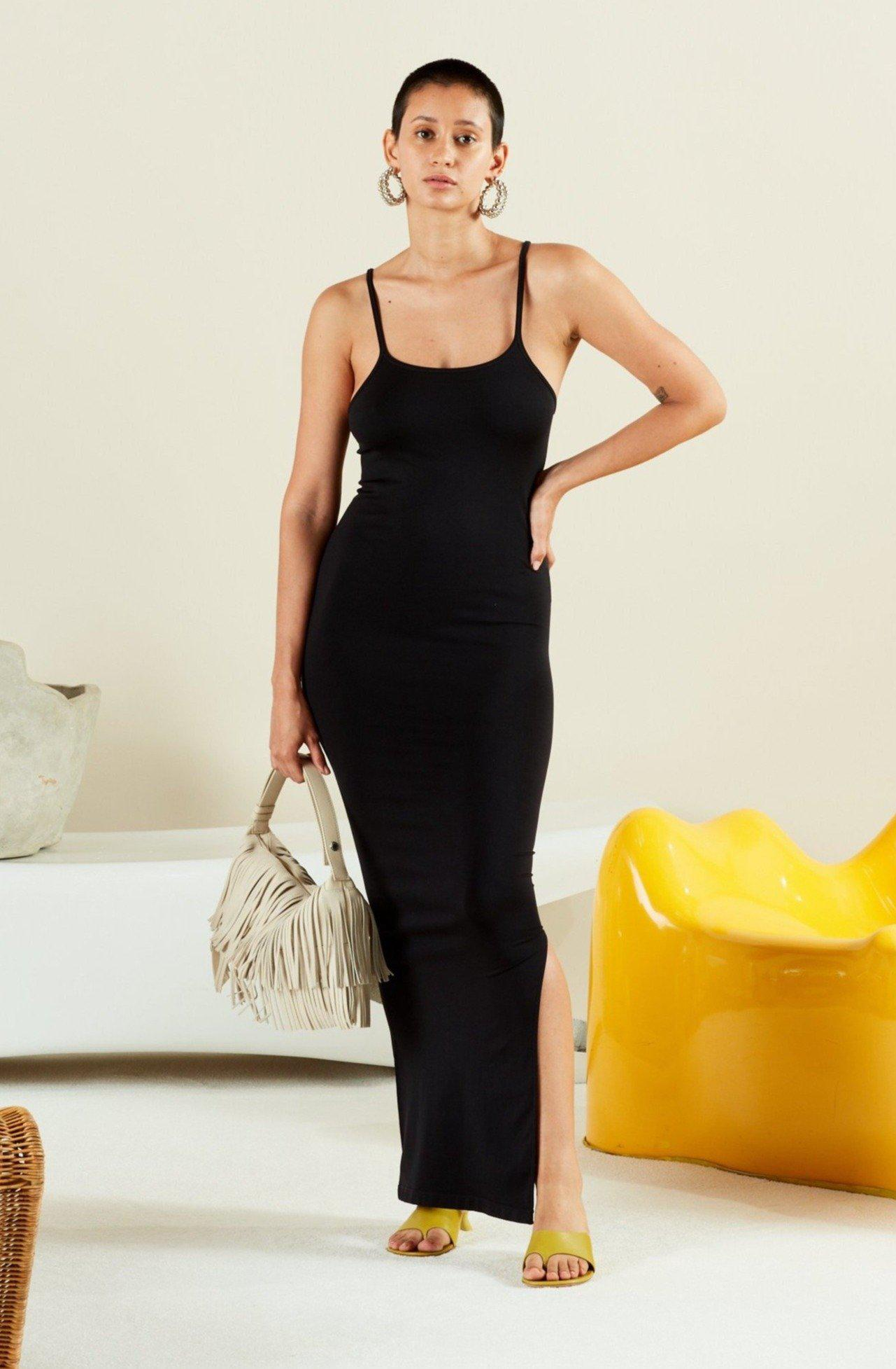STRETCH Anders Dress in Black