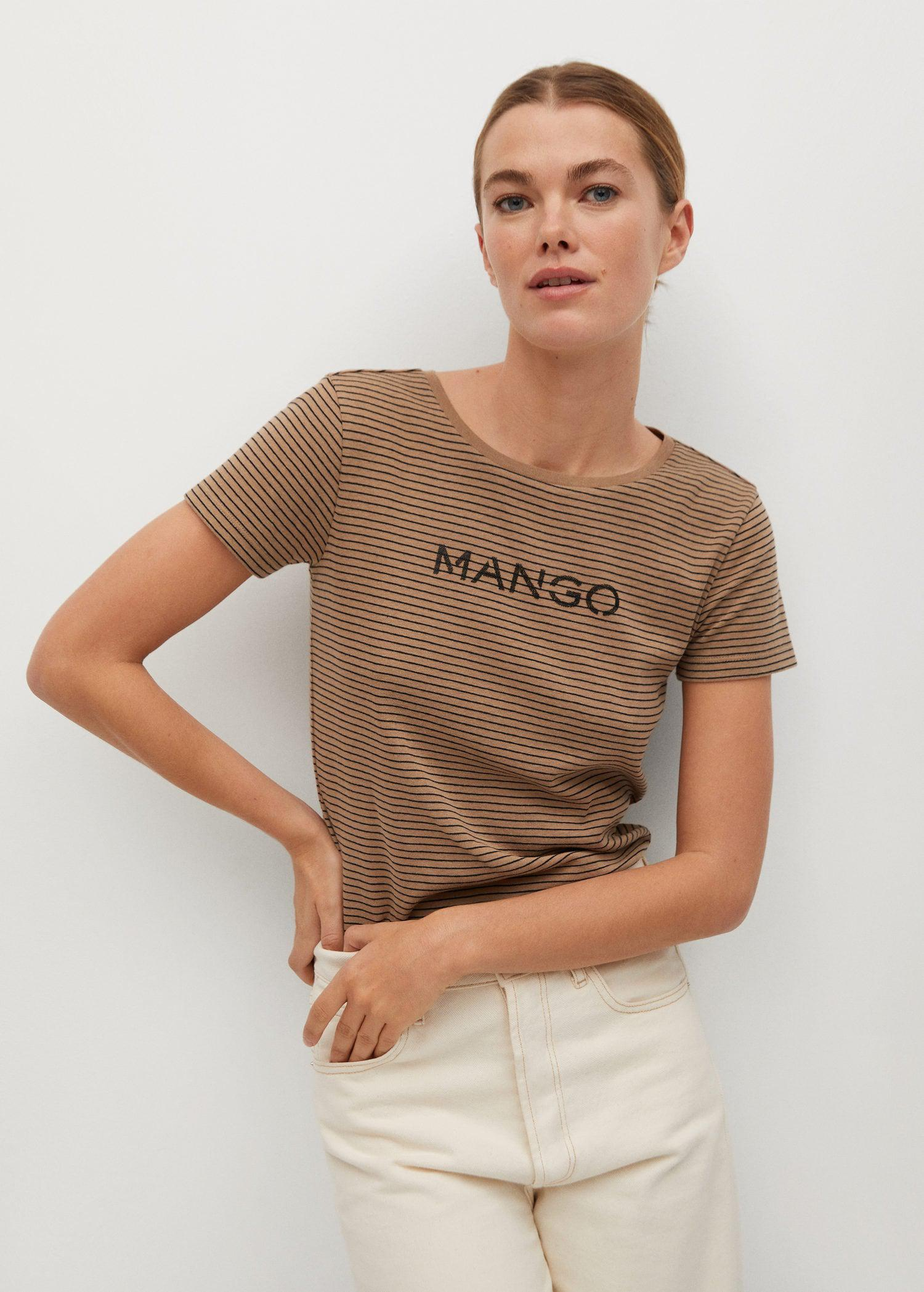Short-sleeved t-shirt with logo