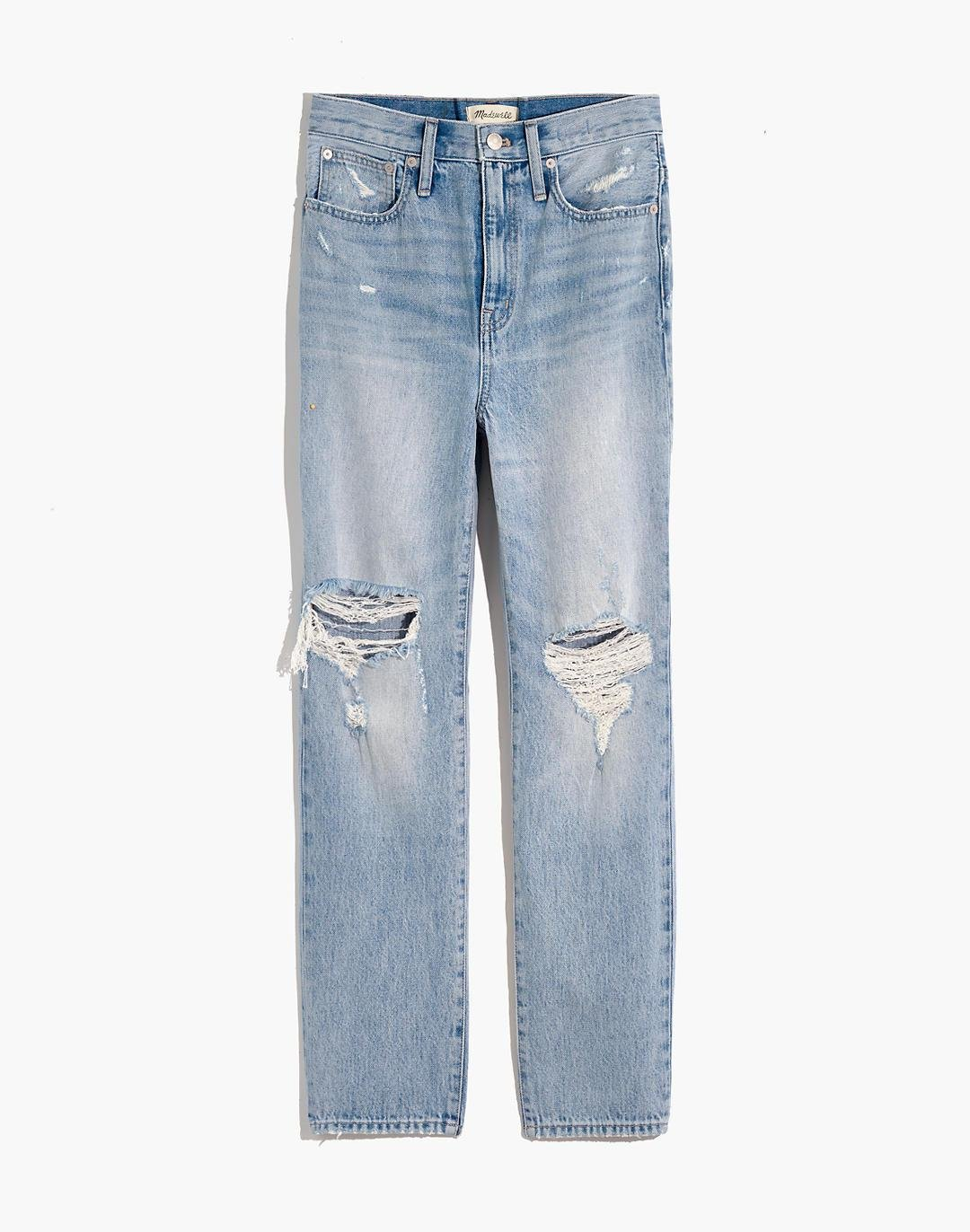 The Perfect Vintage Jean in Calabria Wash: Ripped Edition 4