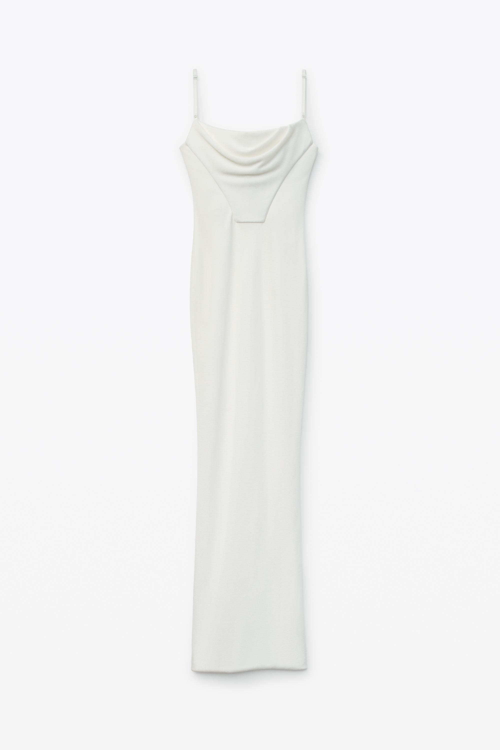 draped corset gown 1